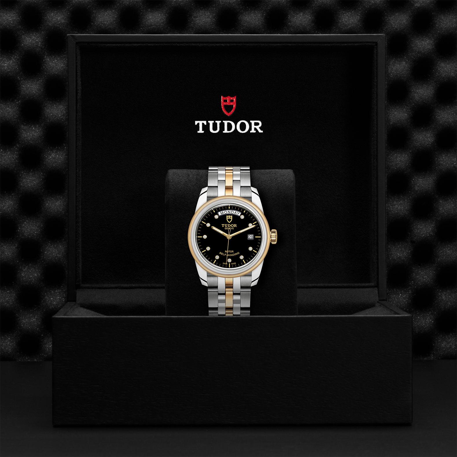 TUDOR Glamour Date Day M56003 0008 Presentation