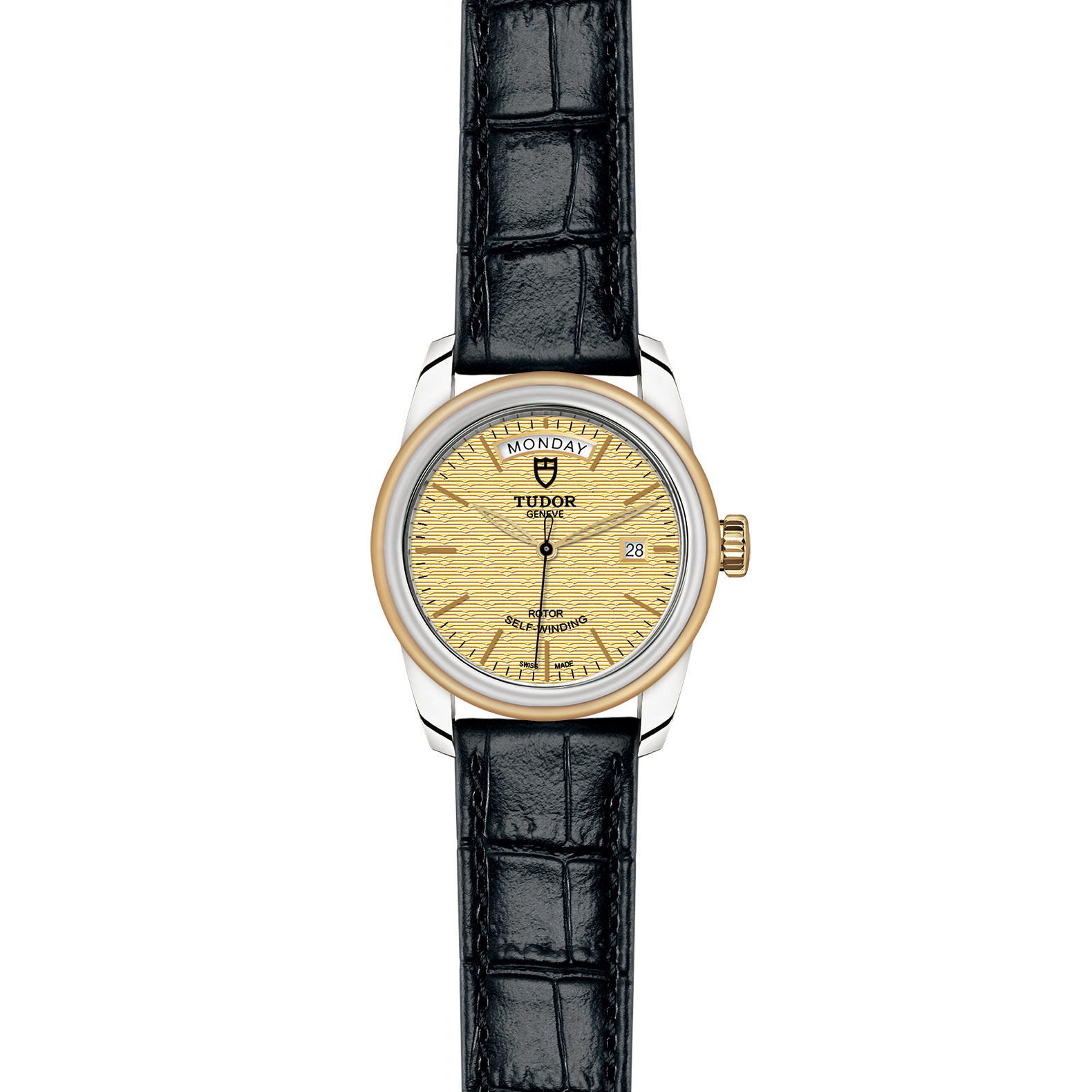 TUDOR Glamour Date Day M56003 0010 Frontfacing