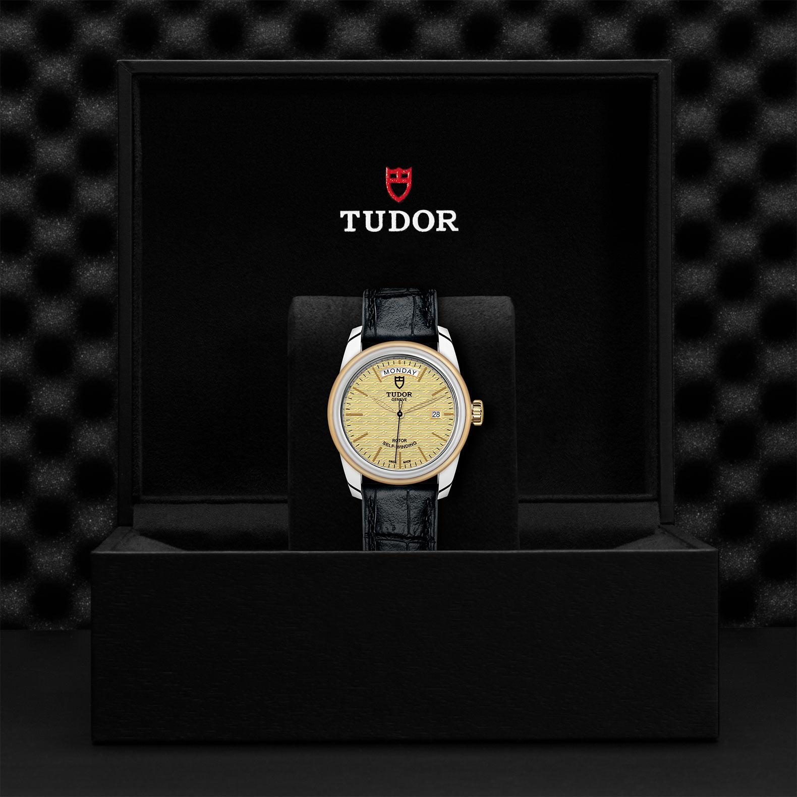 TUDOR Glamour Date Day M56003 0010 Presentationbox
