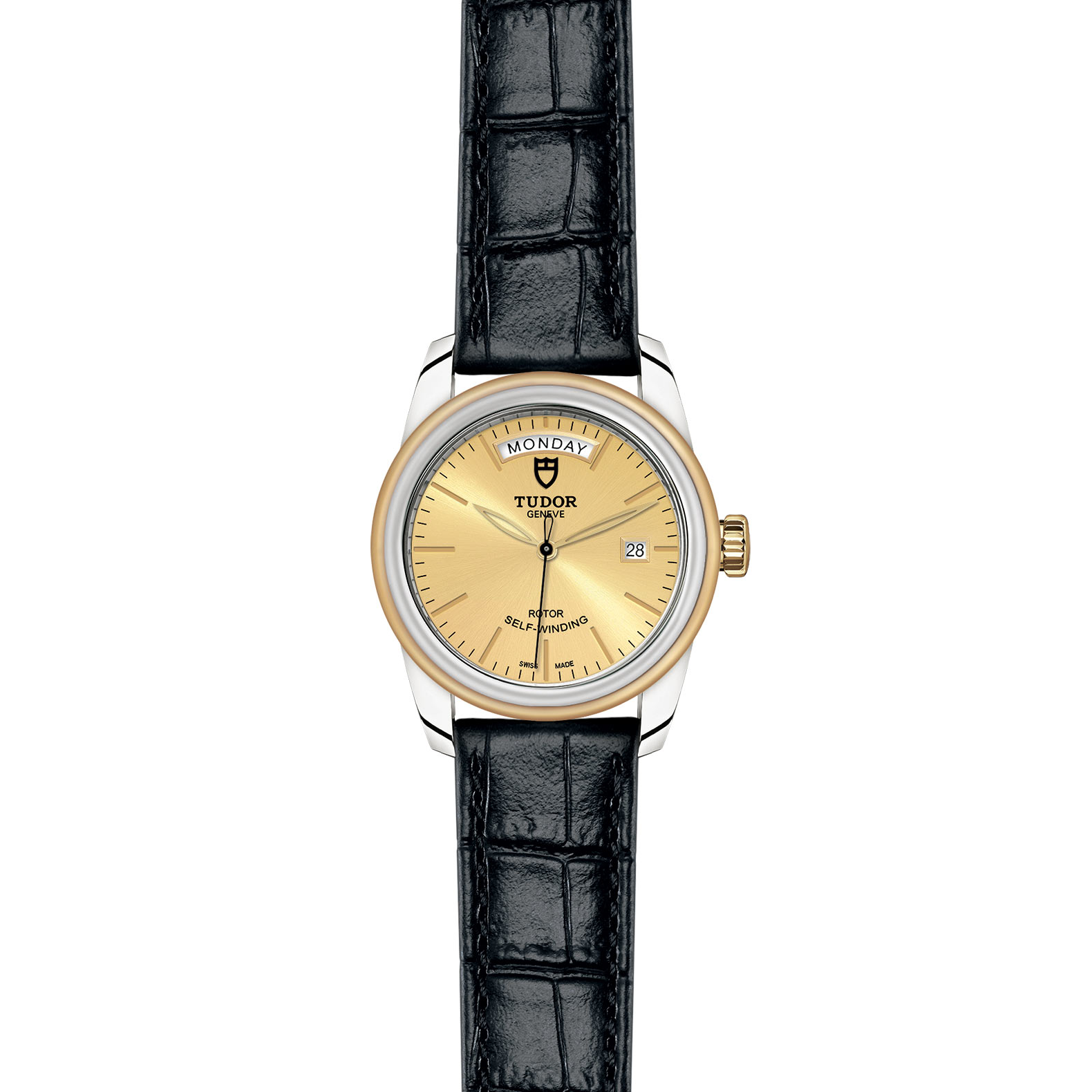 TUDOR Glamour Date Day M56003 0024 Frontfacing