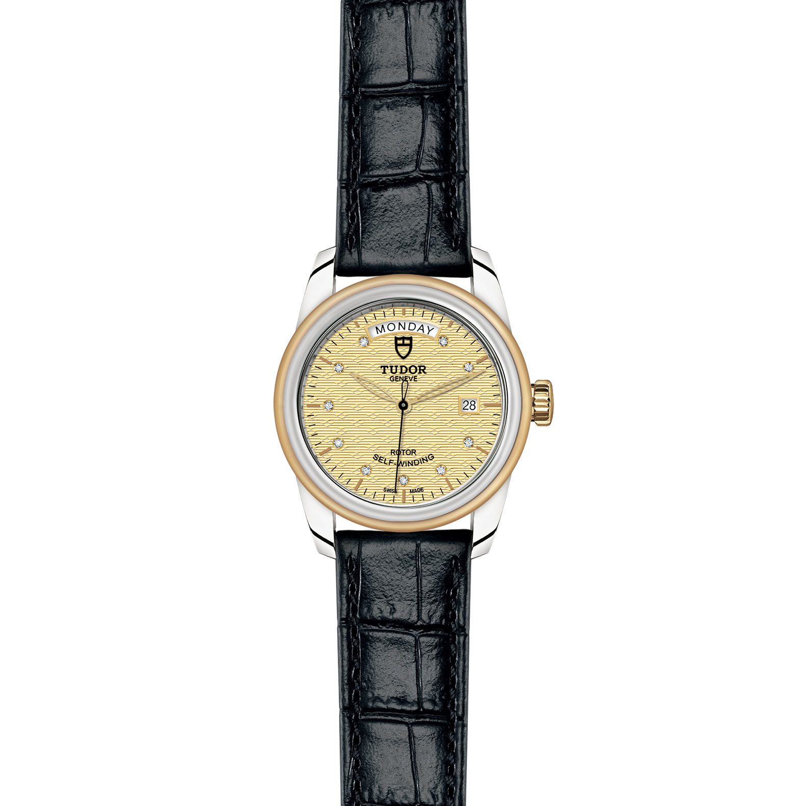 TUDOR Glamour Date Day M56003 0029 Frontfacing