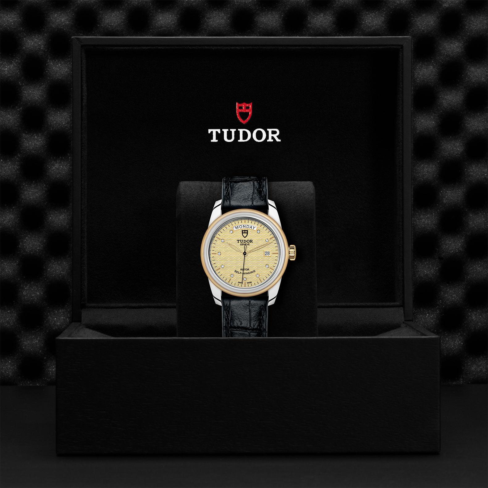 TUDOR Glamour Date Day M56003 0029 Presentation