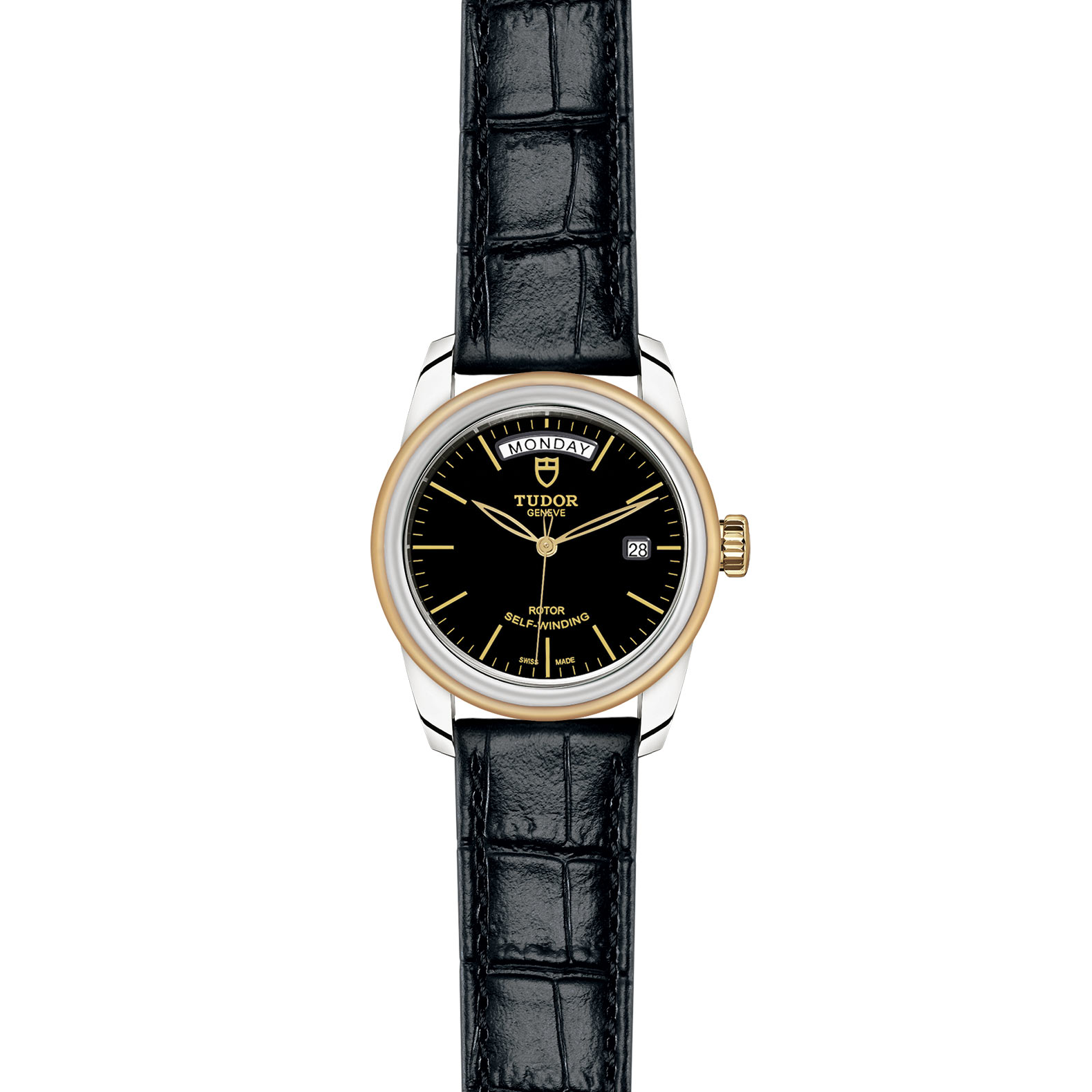 TUDOR Glamour Date Day M56003 0040 Frontfacing