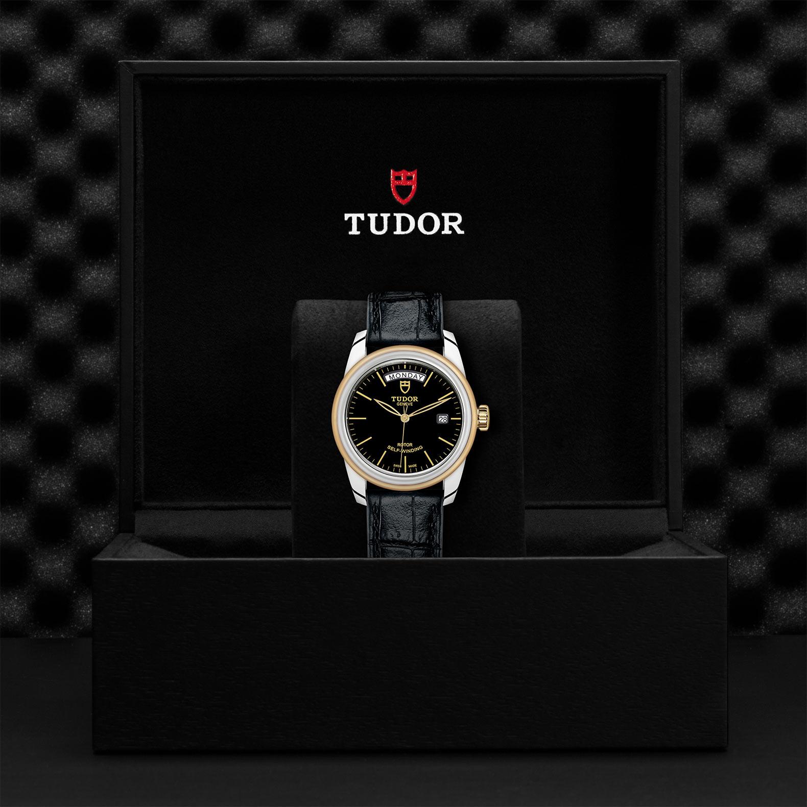 TUDOR Glamour Date Day M56003 0040 Presentationbox