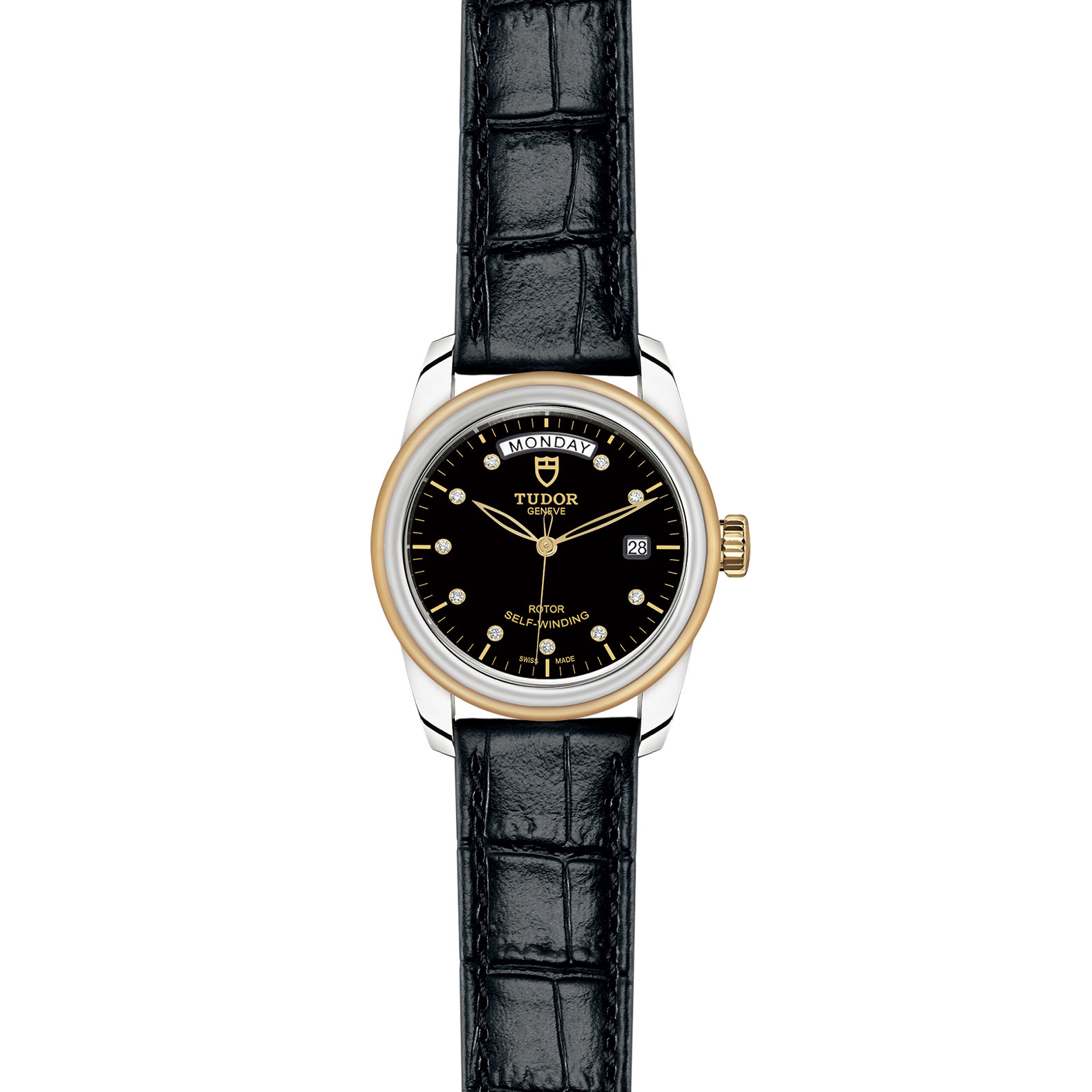 TUDOR Glamour Date Day M56003 0045 Frontfacing