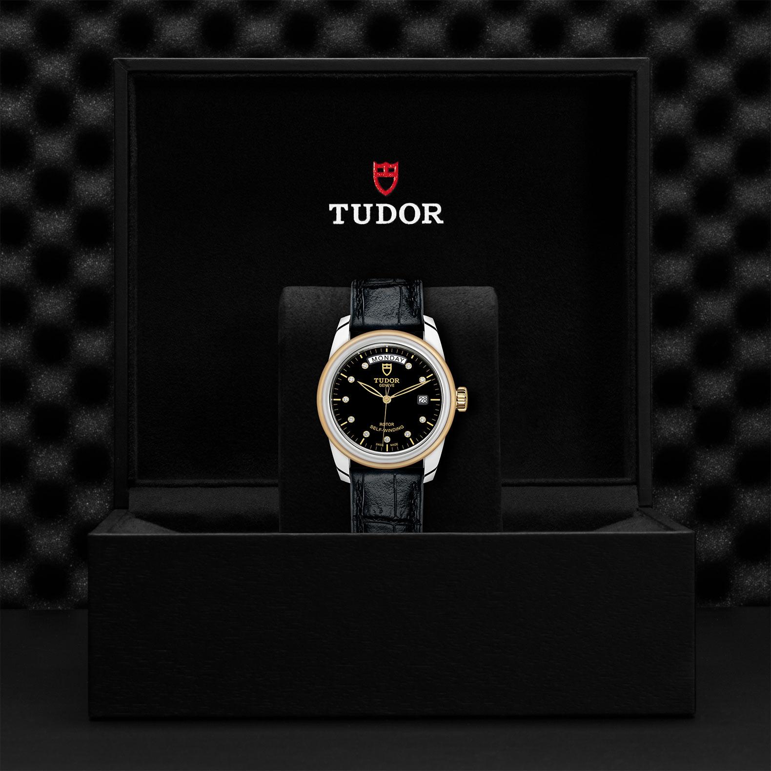 TUDOR Glamour Date Day M56003 0045 Presentation
