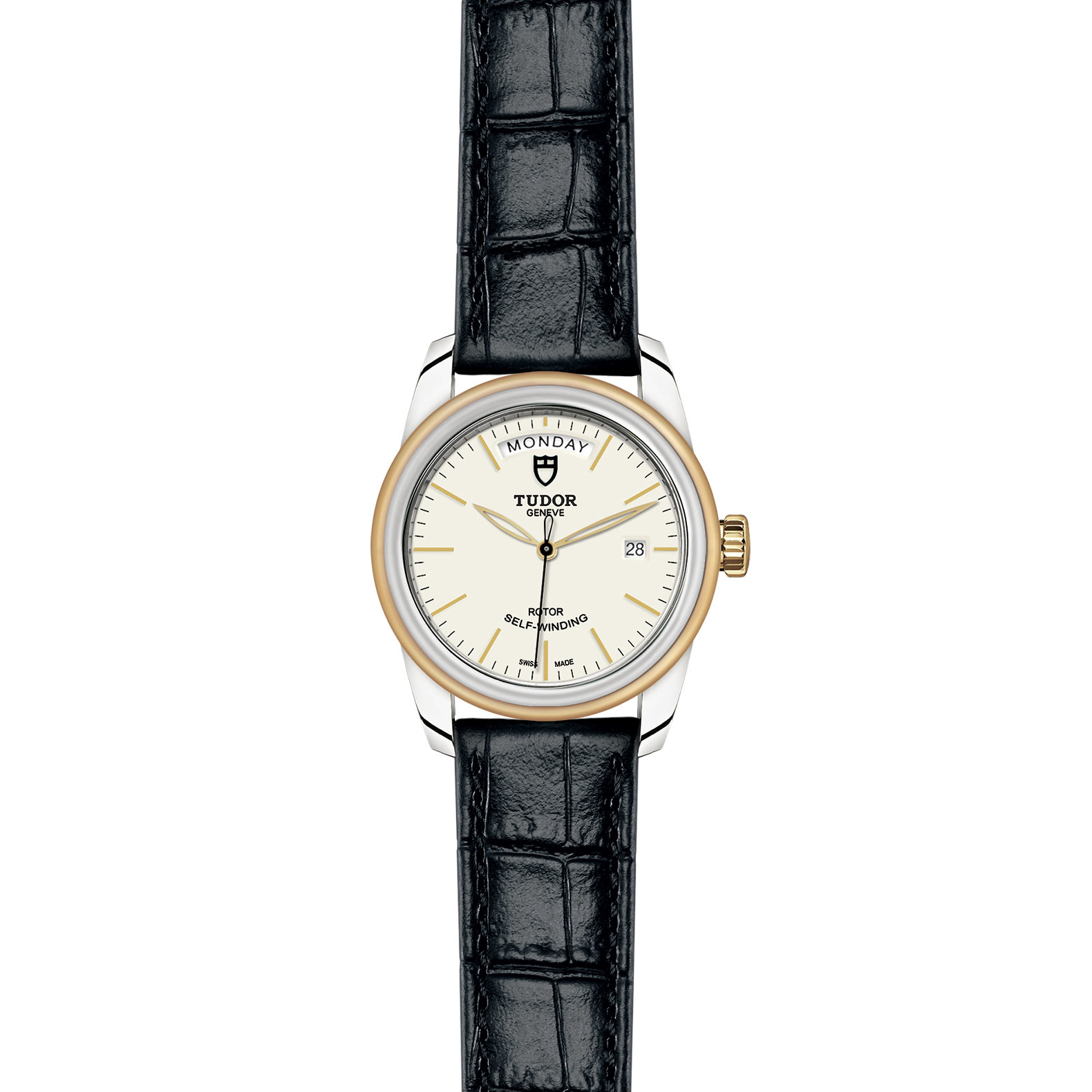 TUDOR Glamour Date Day M56003 0107 Frontfacing
