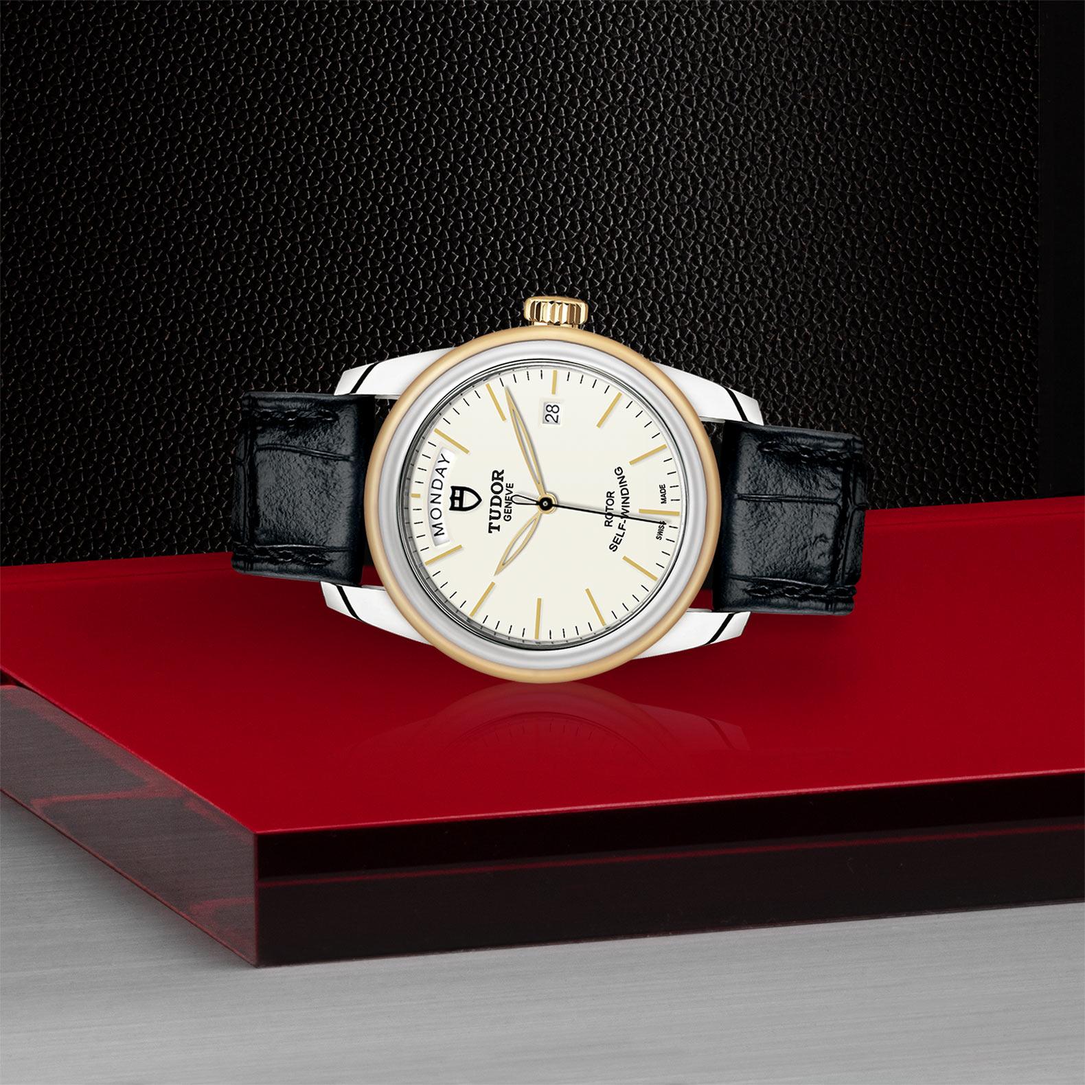 TUDOR Glamour Date Day M56003 0107 Layingdown