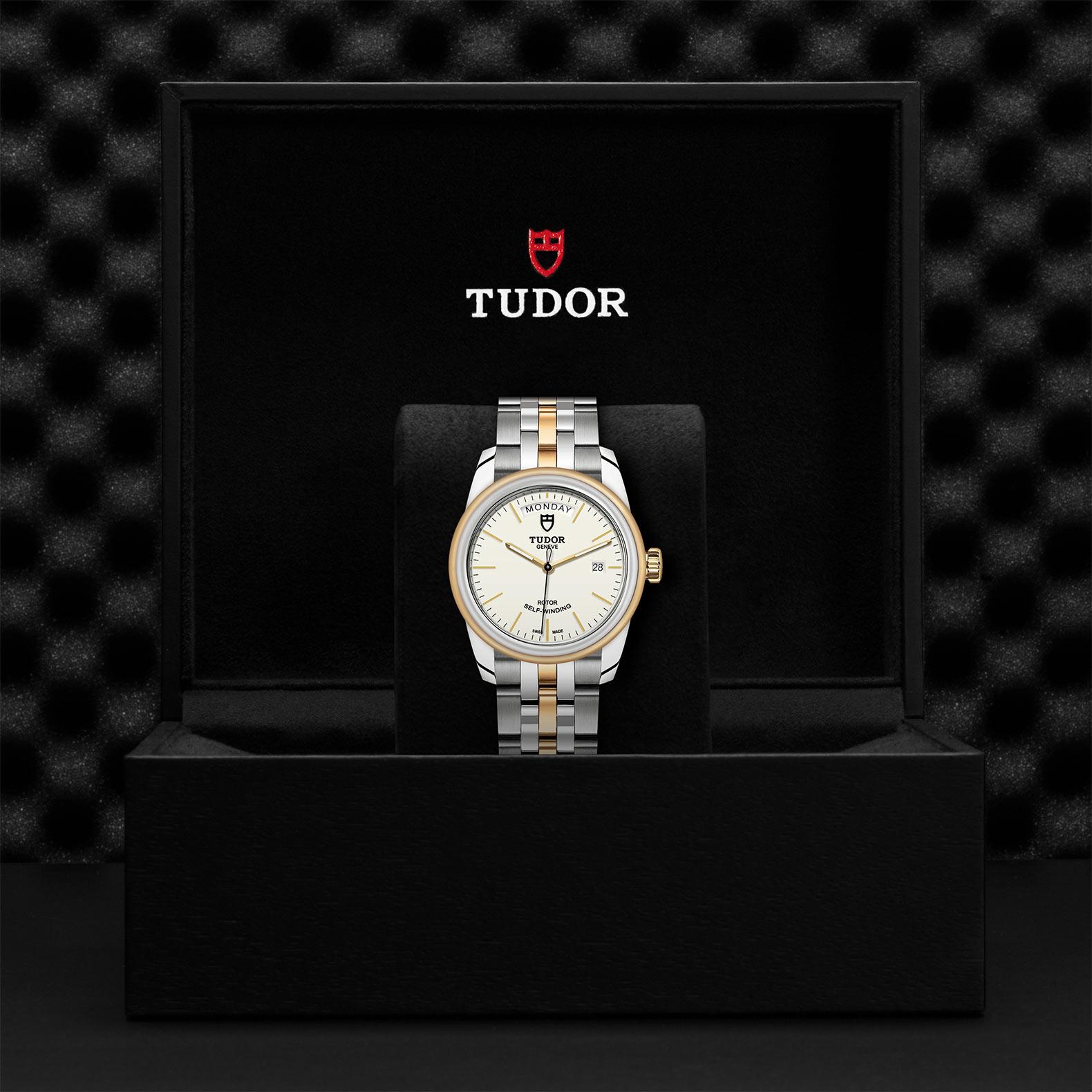 TUDOR Glamour Date Day M56003 0112 Presentationbox