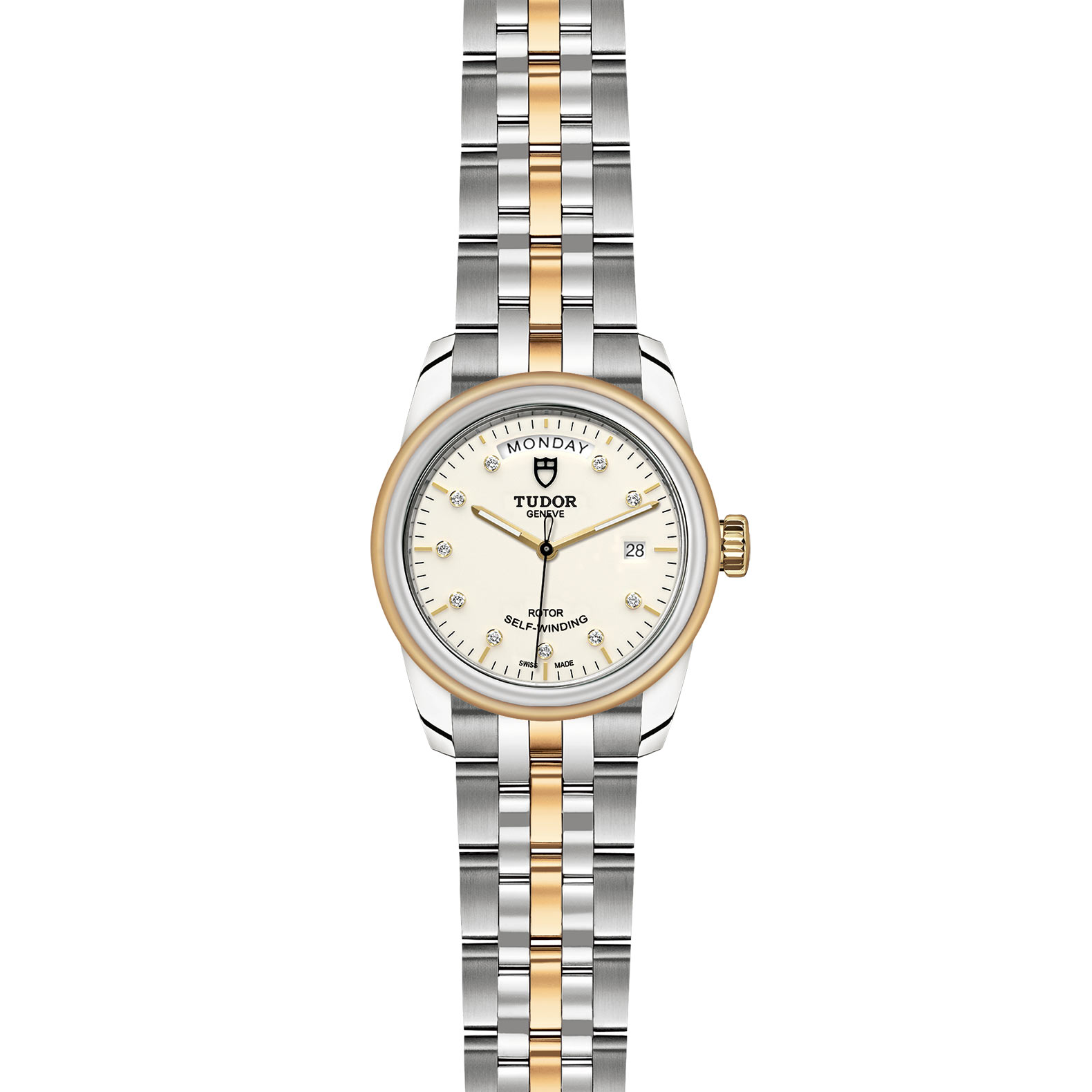 TUDOR Glamour Date Day M56003 0113 Frontfacing