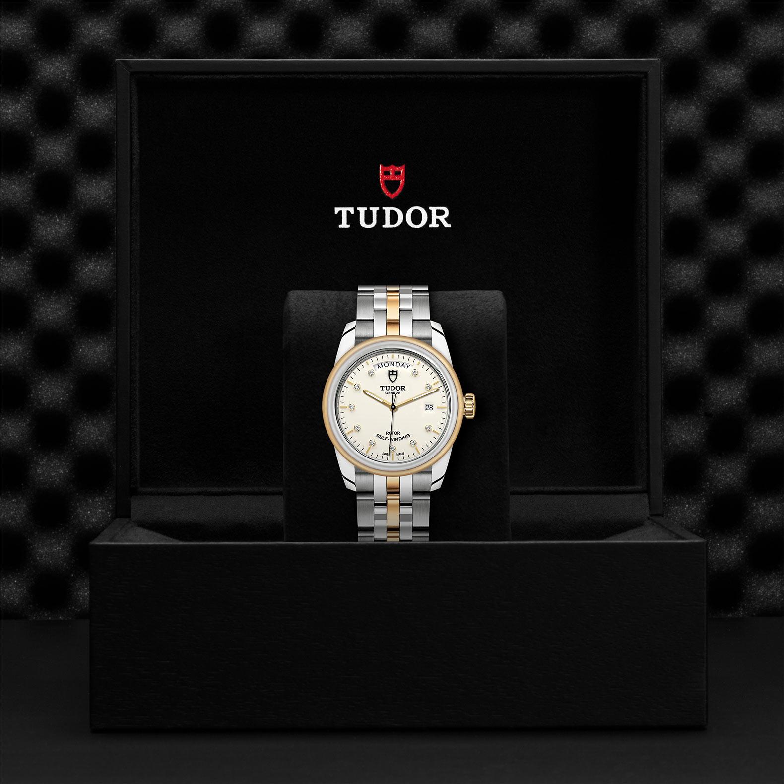 TUDOR Glamour Date Day M56003 0113 Presentationbox