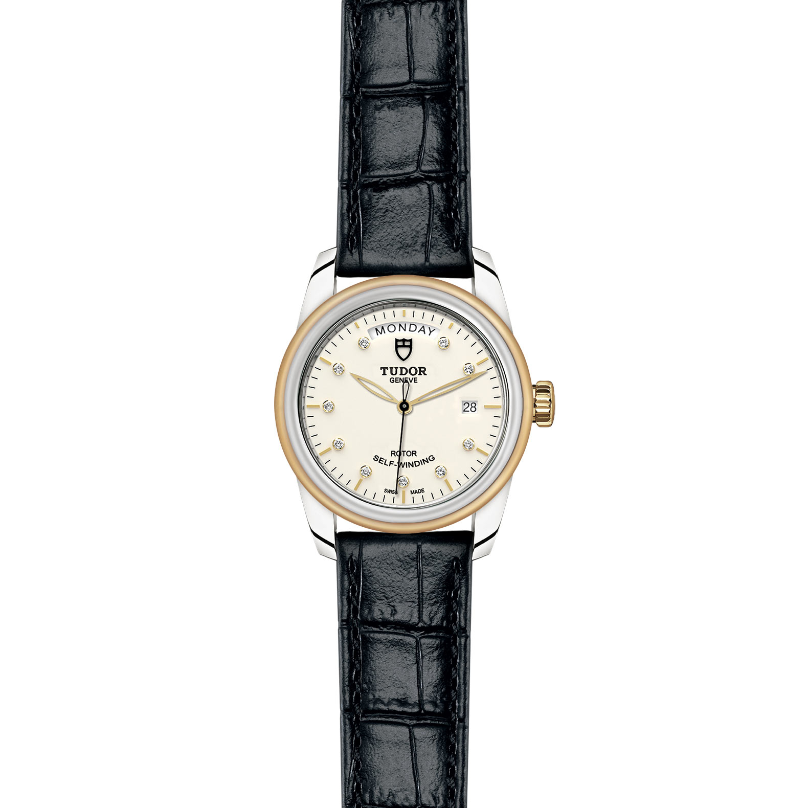 TUDOR Glamour Date Day M56003 0115 Frontfacing