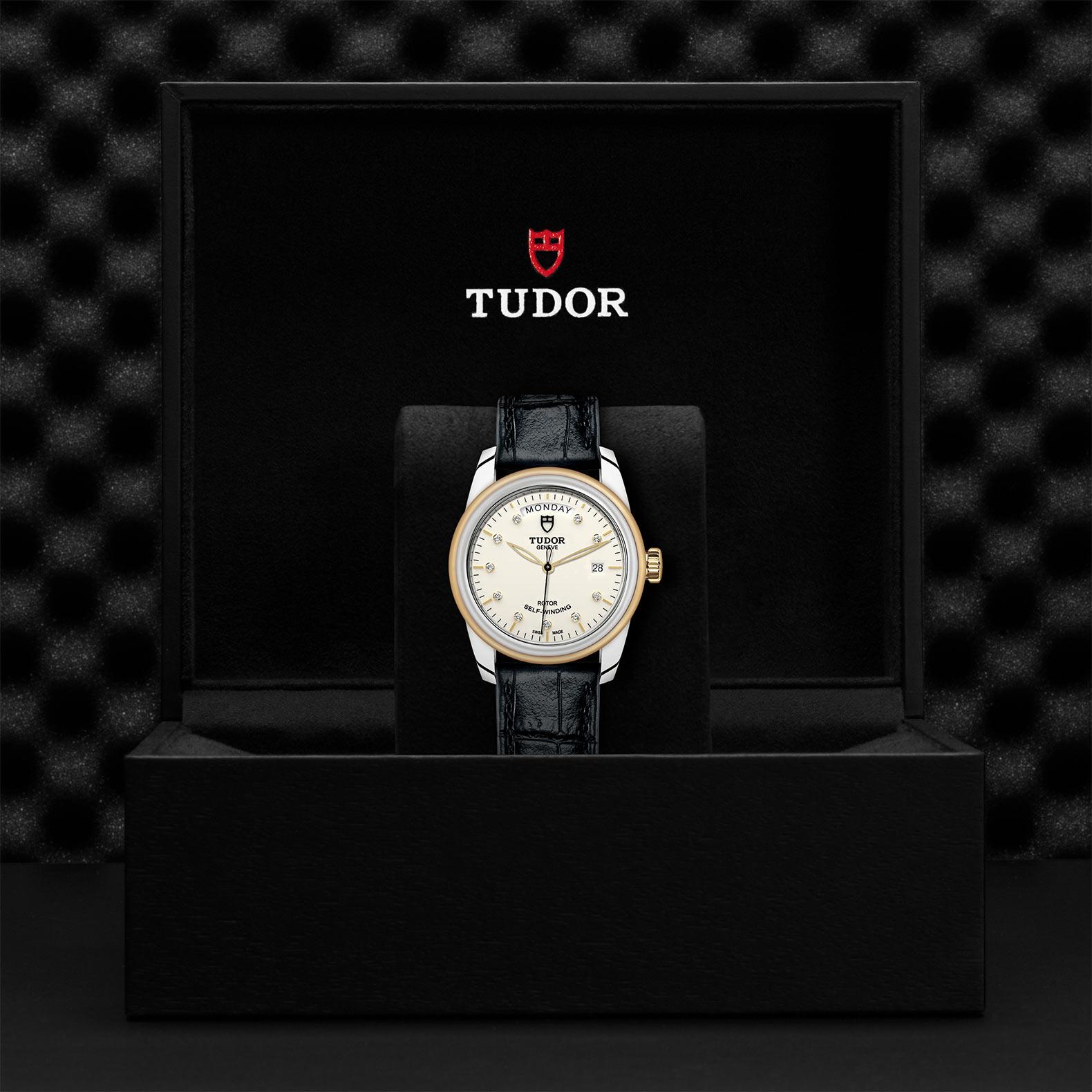 TUDOR Glamour Date Day M56003 0115 Presentationbox