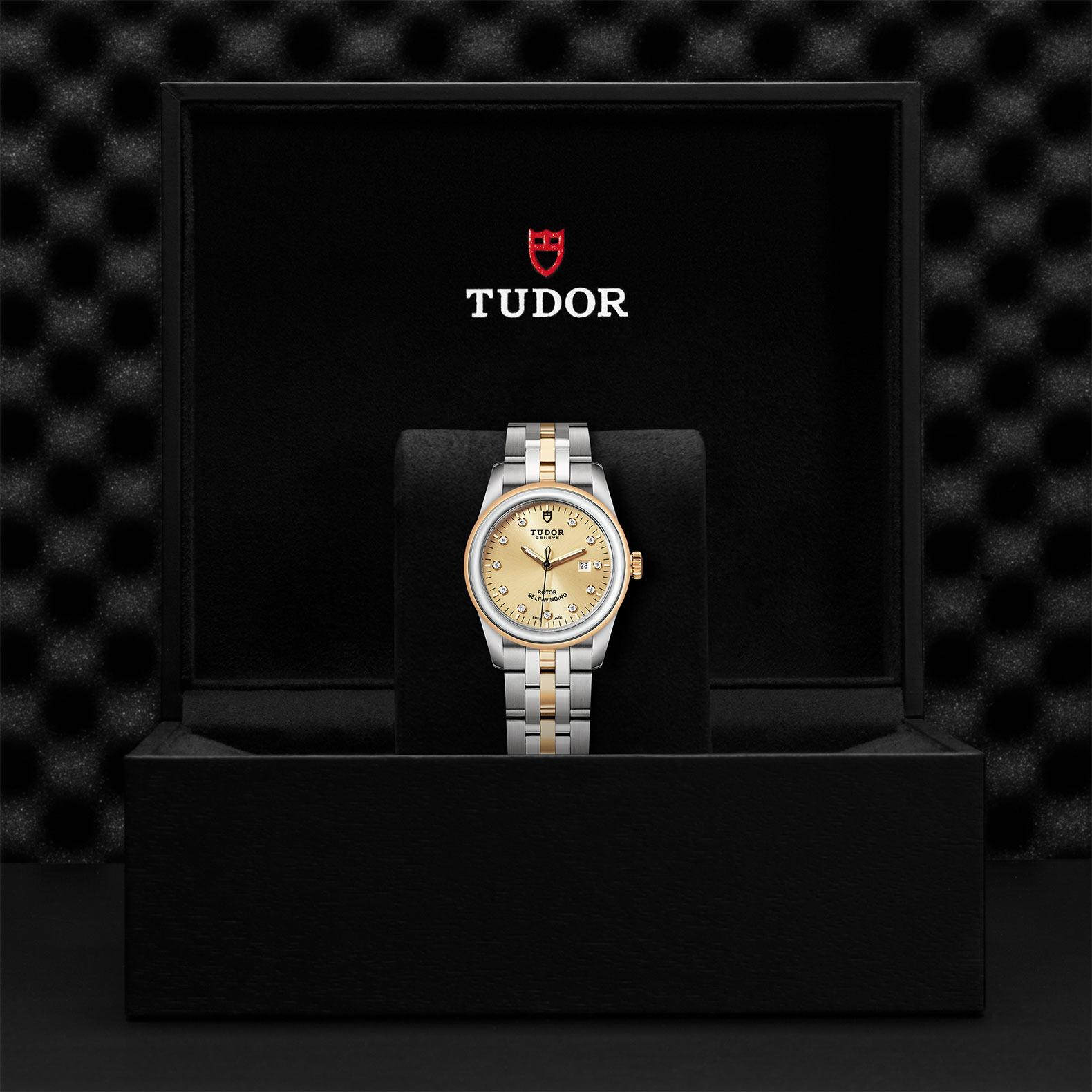 TUDOR Glamour Date M53003 0006 Presentationbox