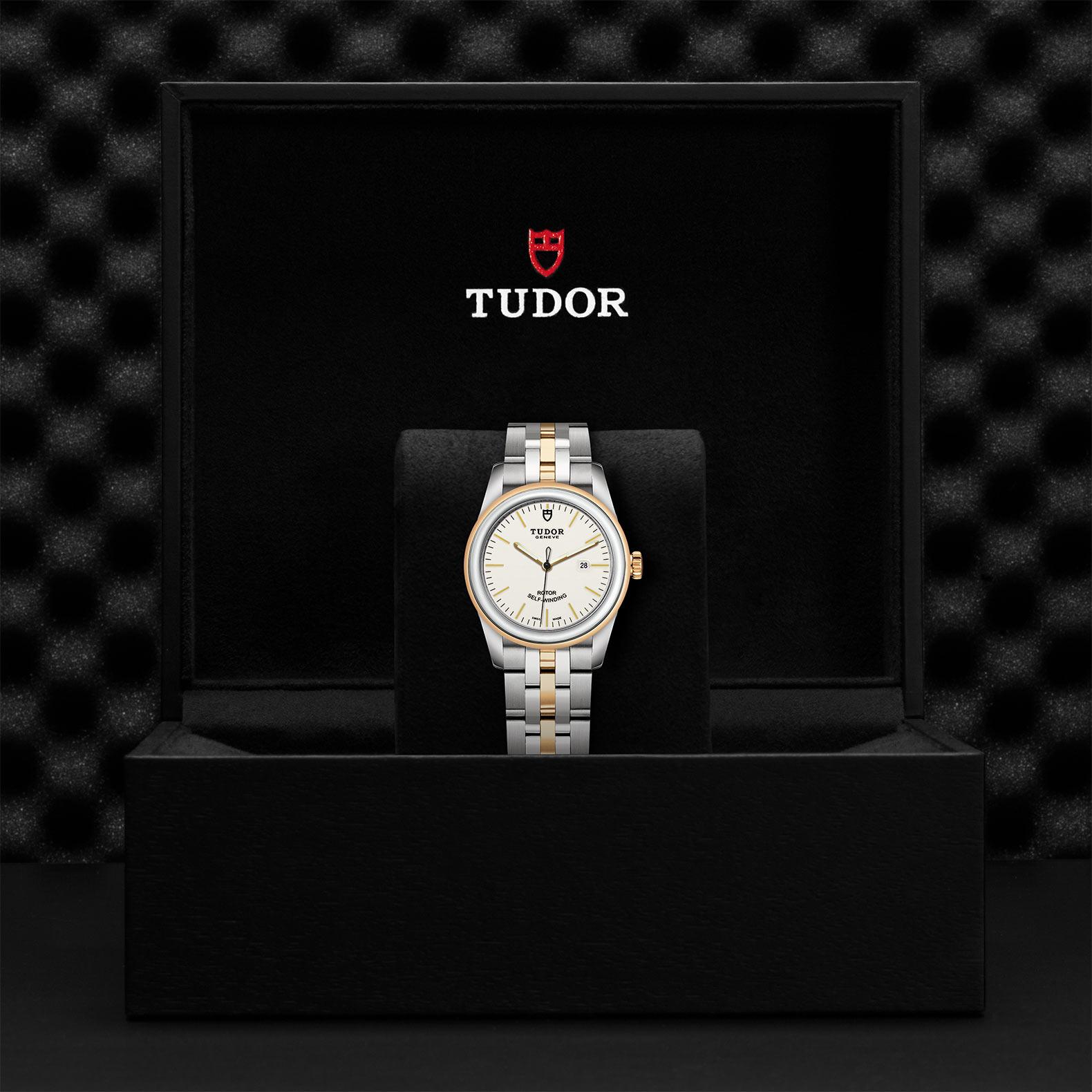 TUDOR Glamour Date M53003 0065 Presentationbox
