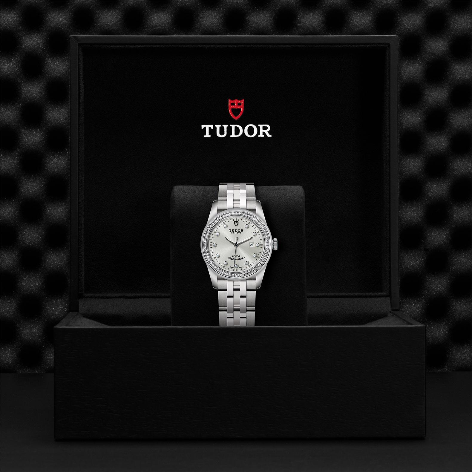 TUDOR Glamour Date M53020 0003 Presentationbox