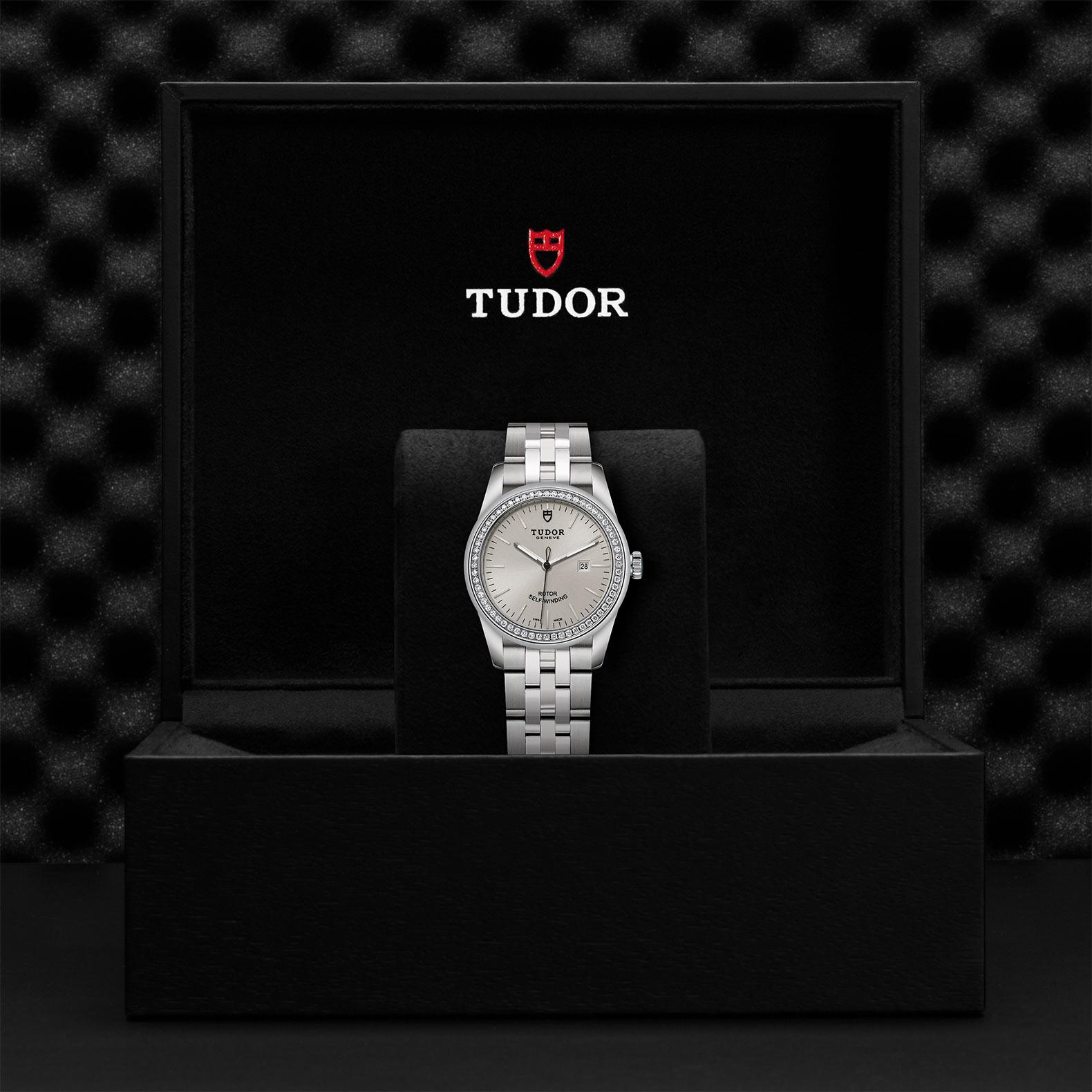 TUDOR Glamour Date M53020 0004 Presentationbox