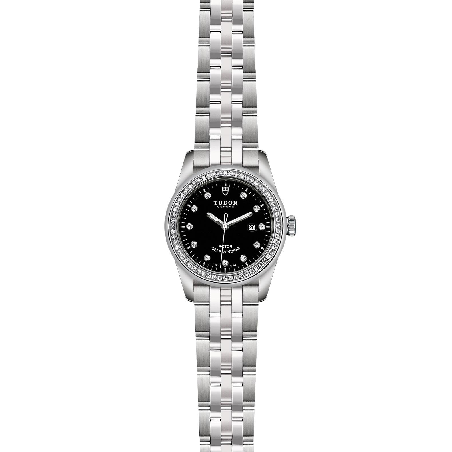 TUDOR Glamour Date M53020 0007 Frontfacing