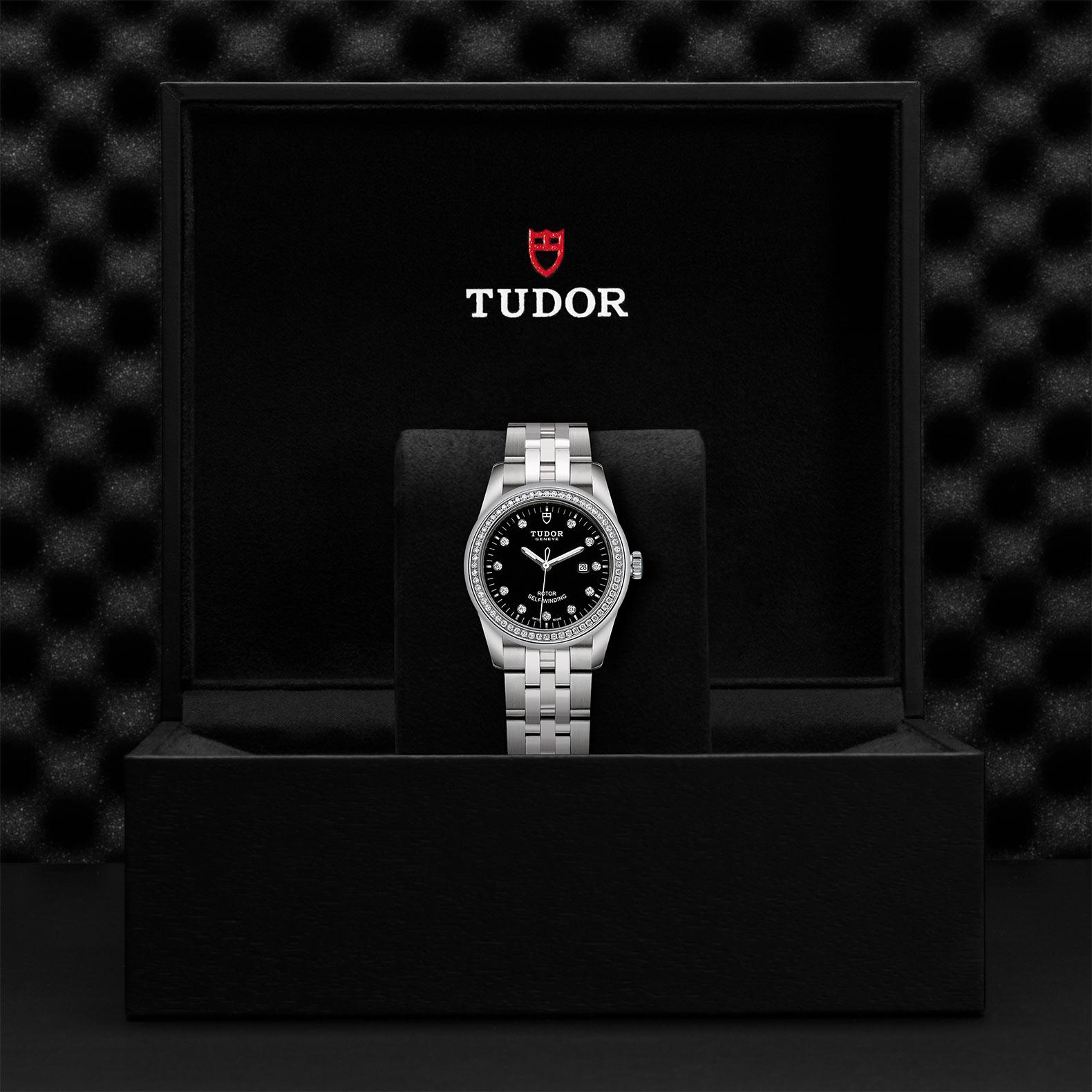 TUDOR Glamour Date M53020 0007 Presentationbox
