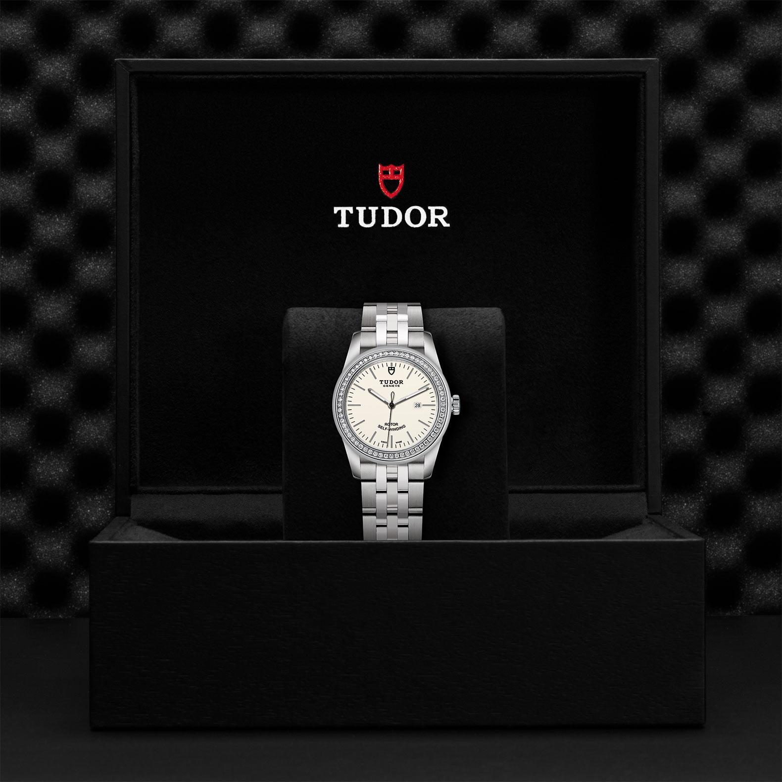 TUDOR Glamour Date M53020 0073 Presentationbox