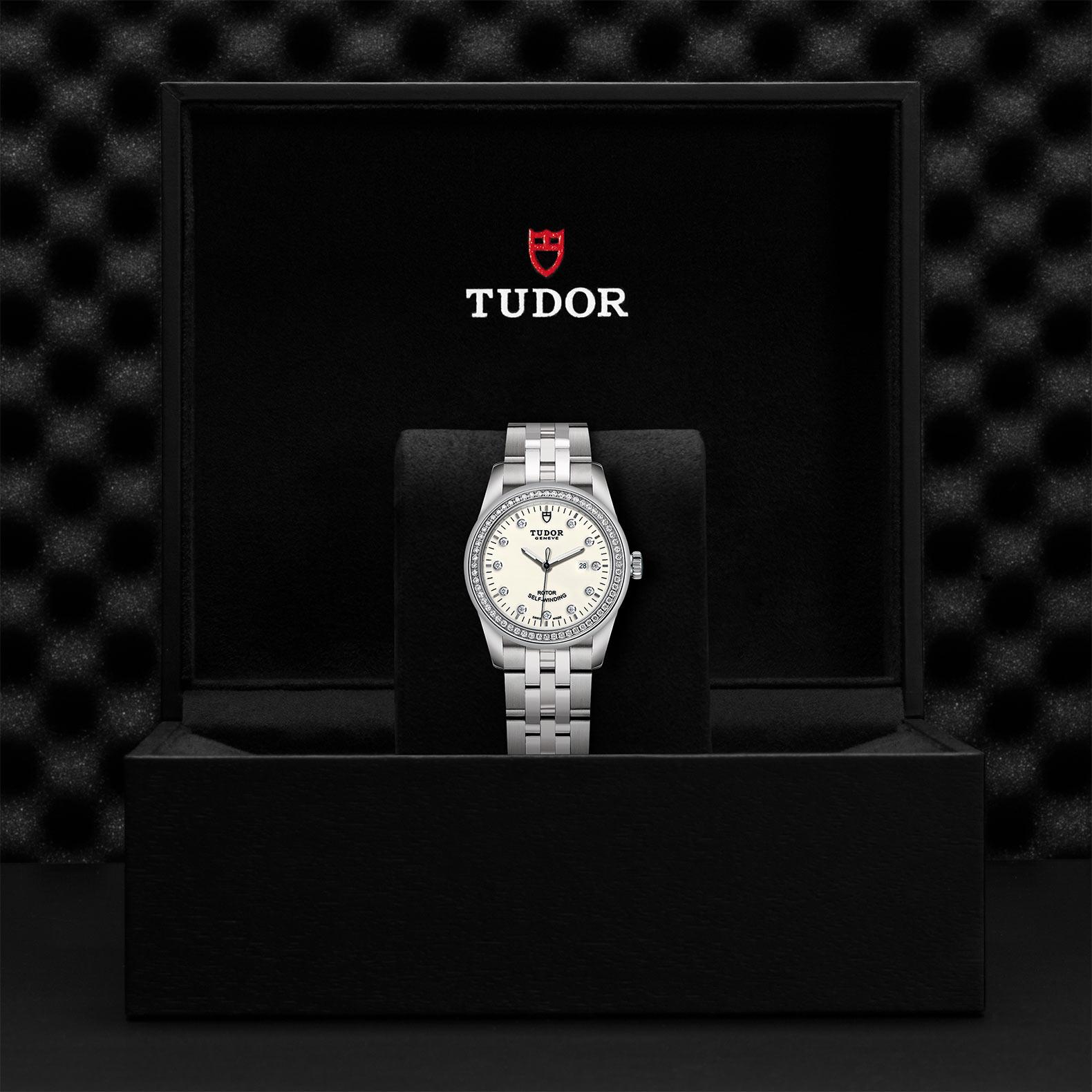 TUDOR Glamour Date M53020 0074 Presentationbox