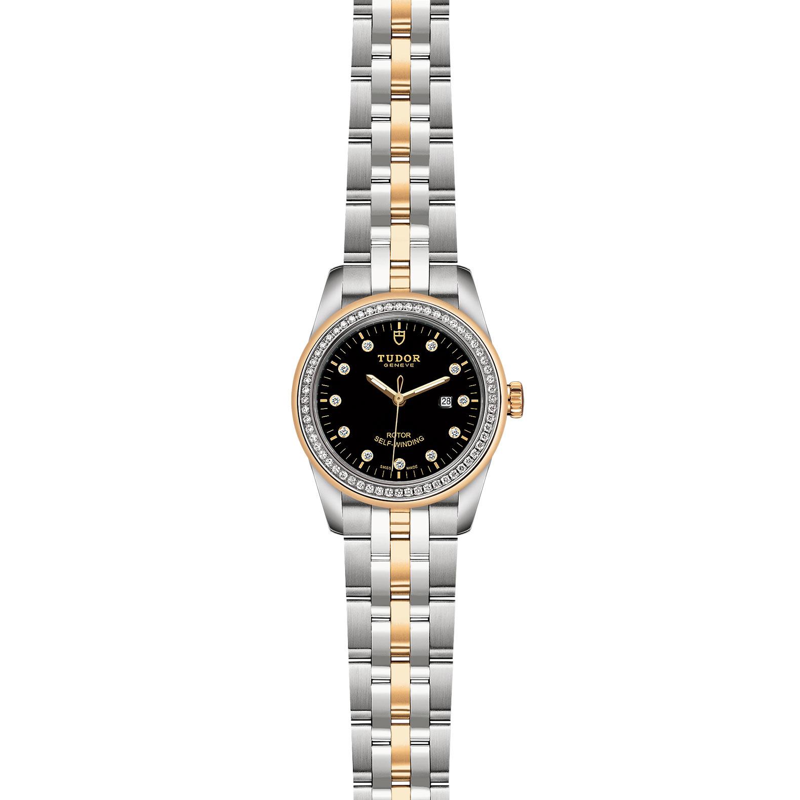 TUDOR Glamour Date M53023 0017 Frontfacing