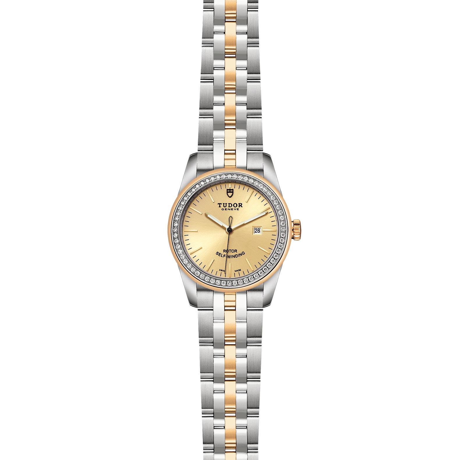 TUDOR Glamour Date M53023 0020 Frontfacing