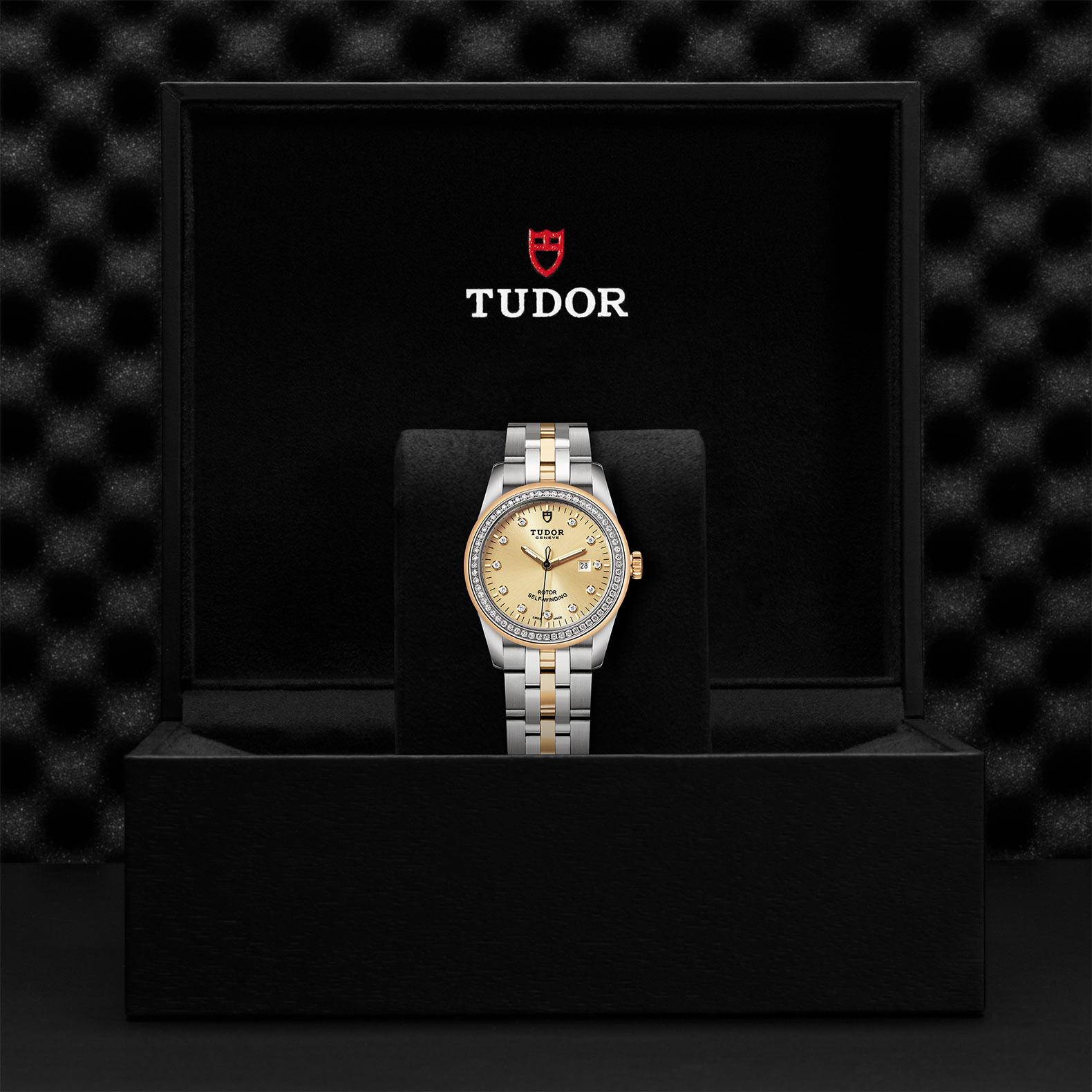 TUDOR Glamour Date M53023 0021 Presentationbox
