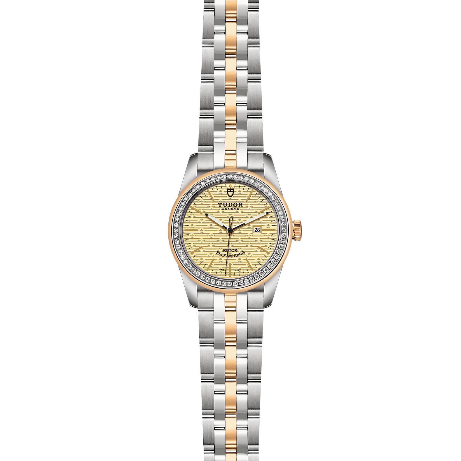 TUDOR Glamour Date M53023 0022 Frontfacing