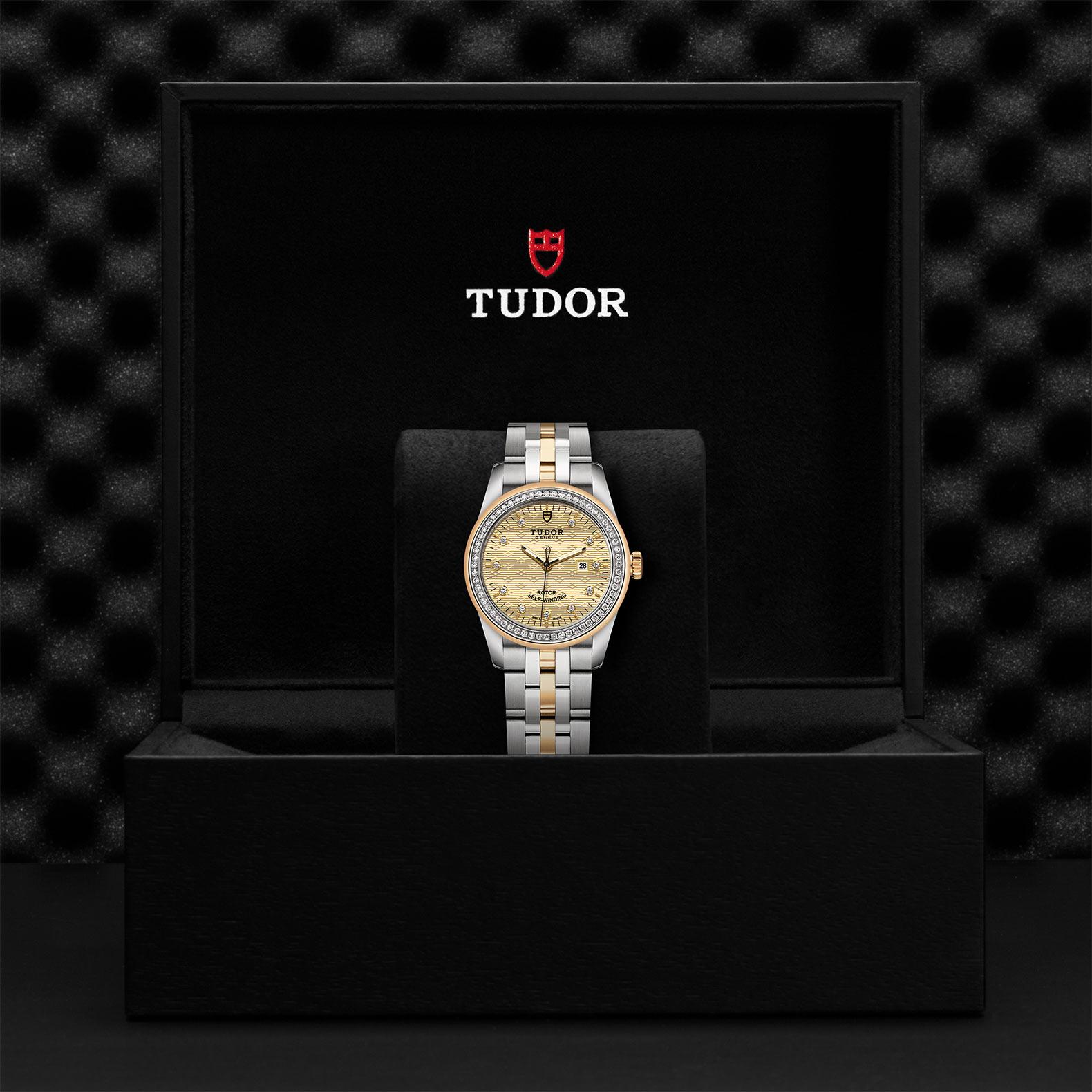 TUDOR Glamour Date M53023 0023 Presentationbox