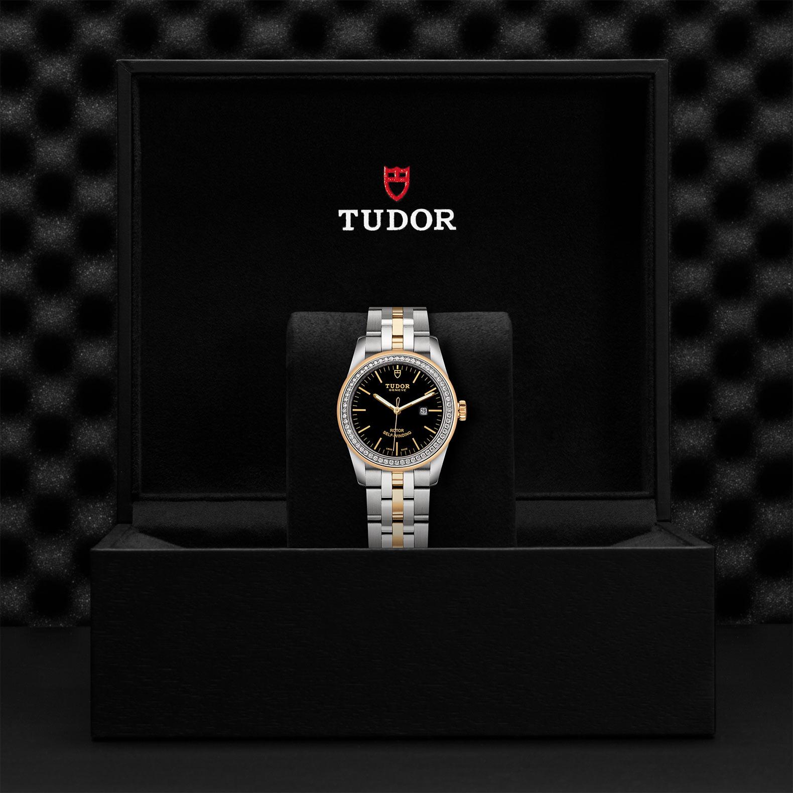 TUDOR Glamour Date M53023 0064 Presentationbox