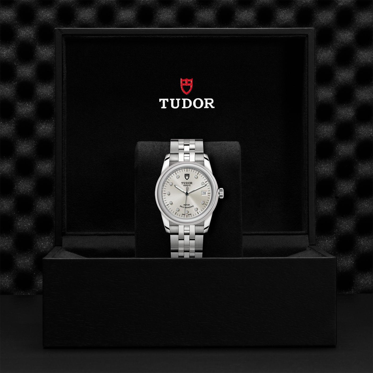 TUDOR Glamour Date M55000 0006 Presentationbox