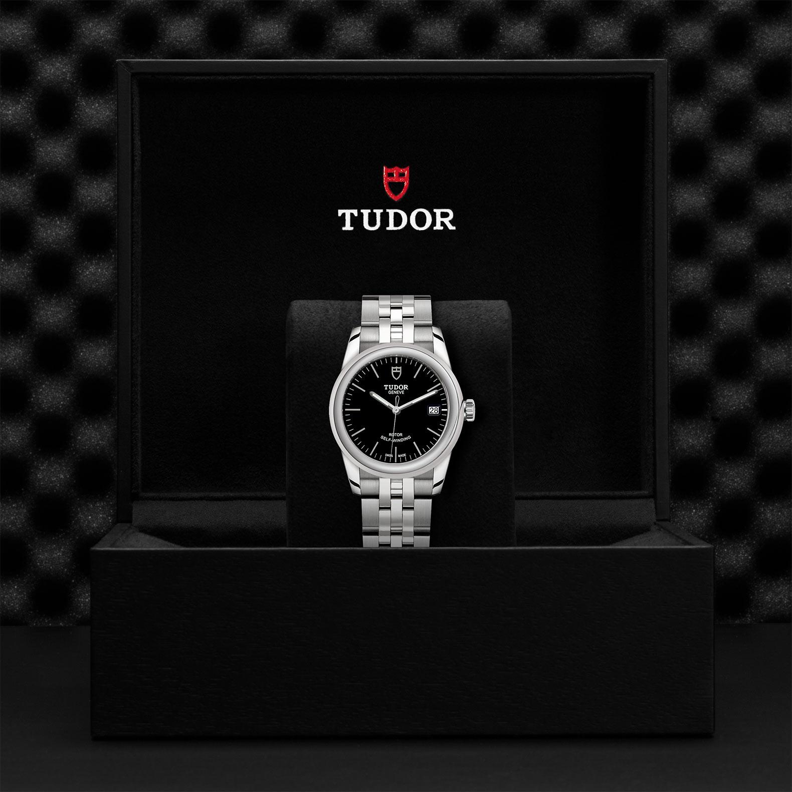 TUDOR Glamour Date M55000 0007 Presentationbox