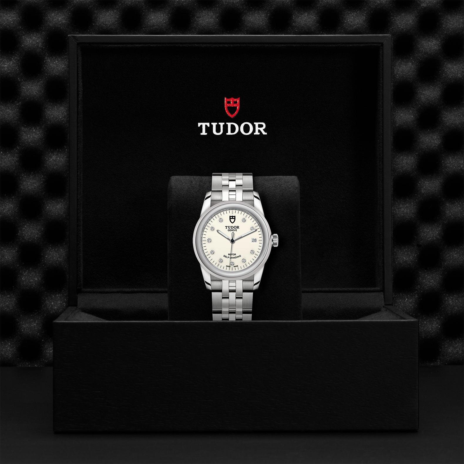 TUDOR Glamour Date M55000 0104 Presentationbox
