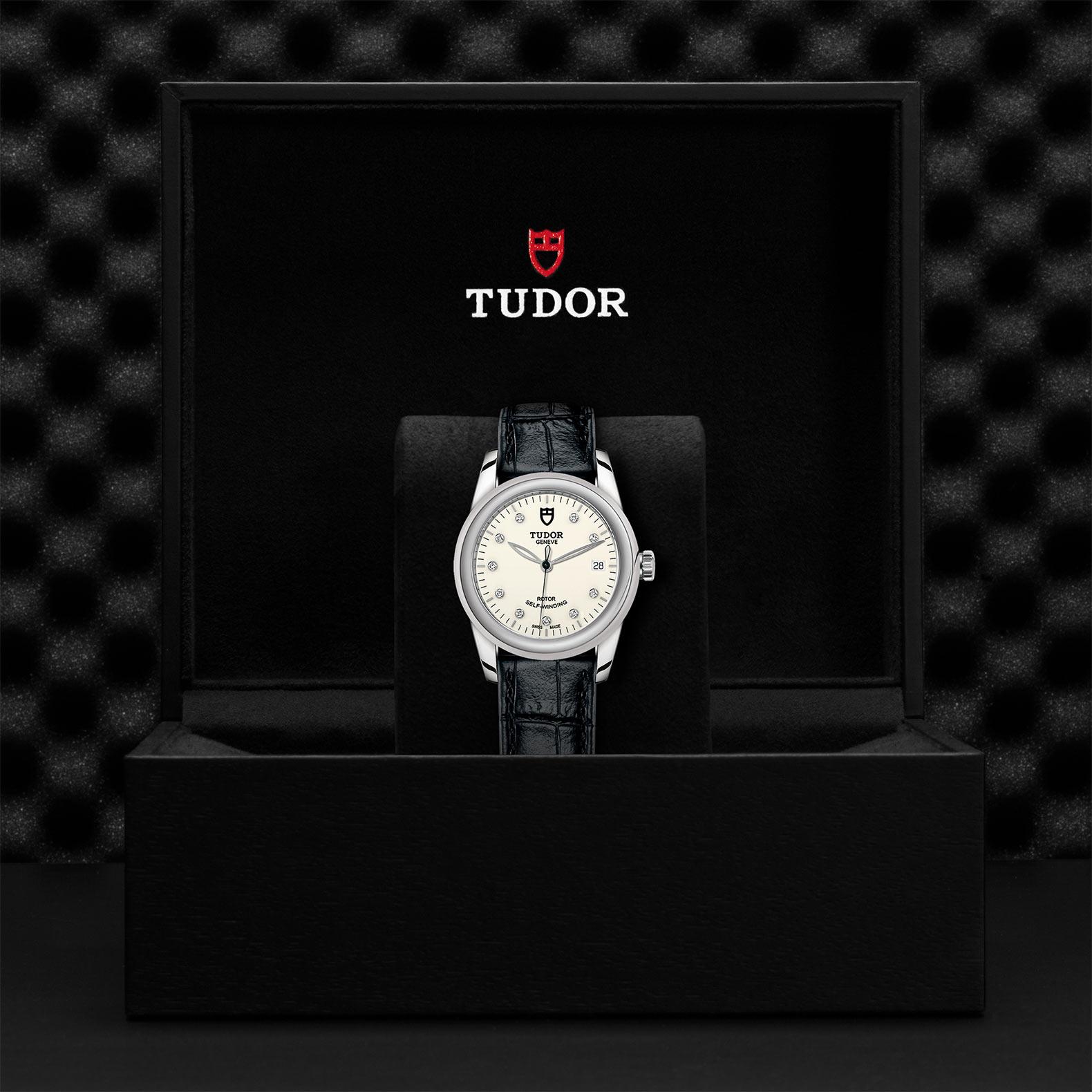TUDOR Glamour Date M55000 0116 Presentationbox