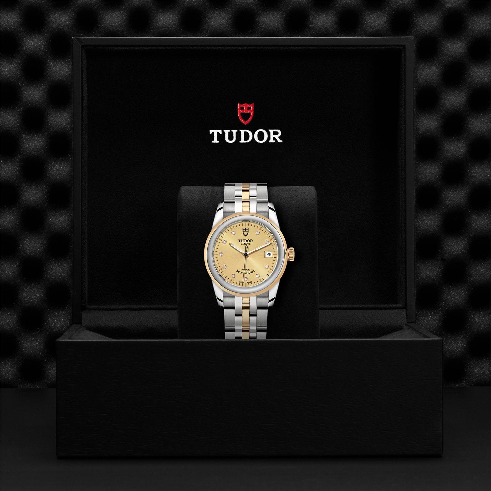 TUDOR Glamour Date M55003 0006 Presentationbox