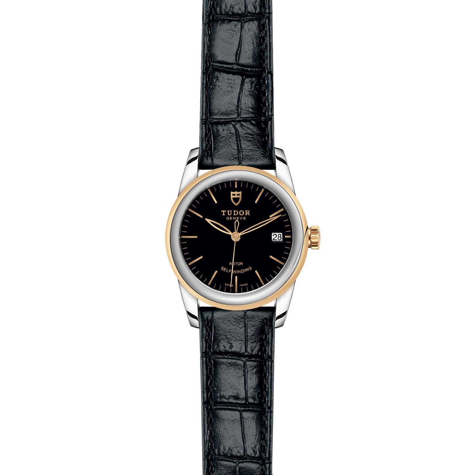TUDOR Glamour Date M55003 0029 Frontfacing