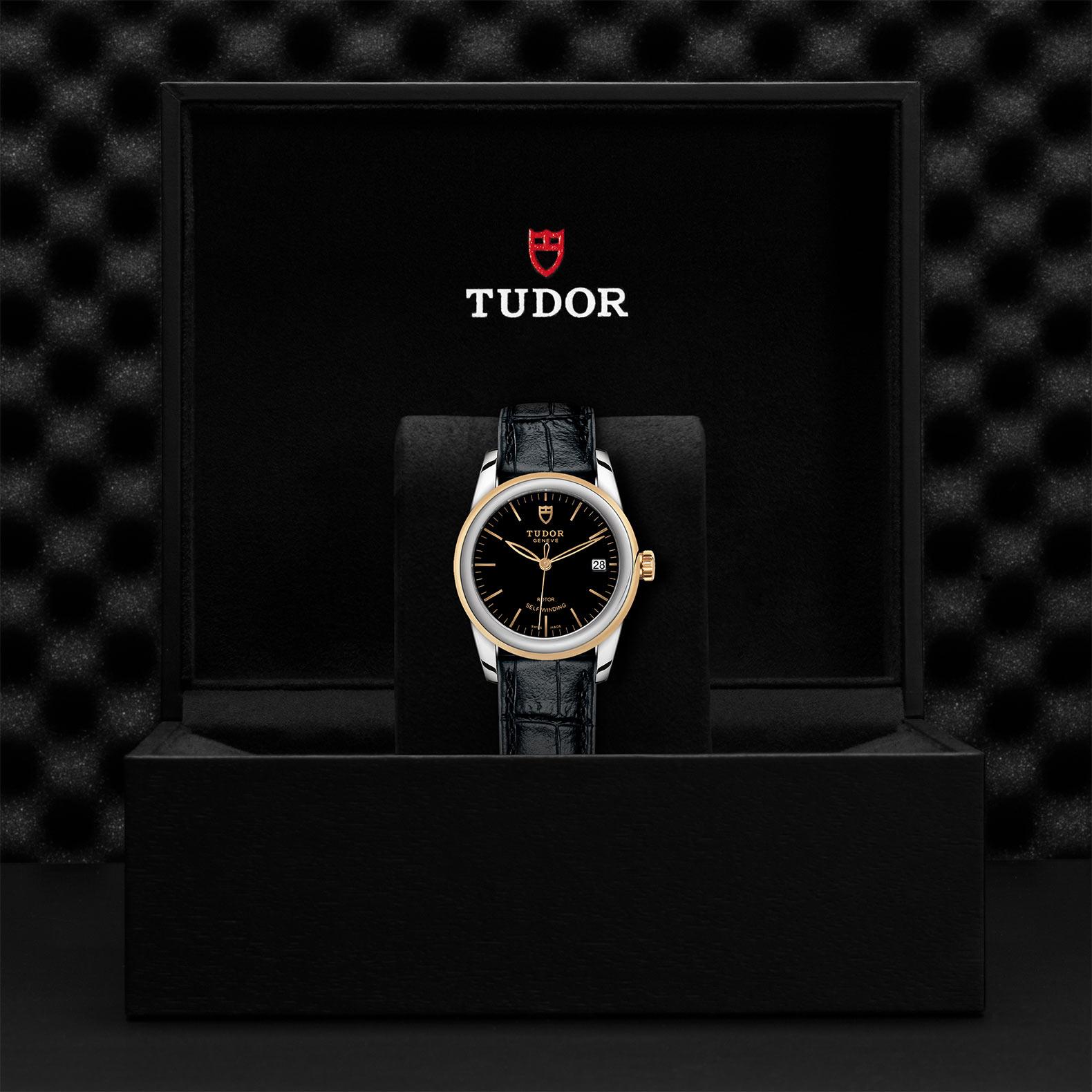 TUDOR Glamour Date M55003 0029 Presentationbox