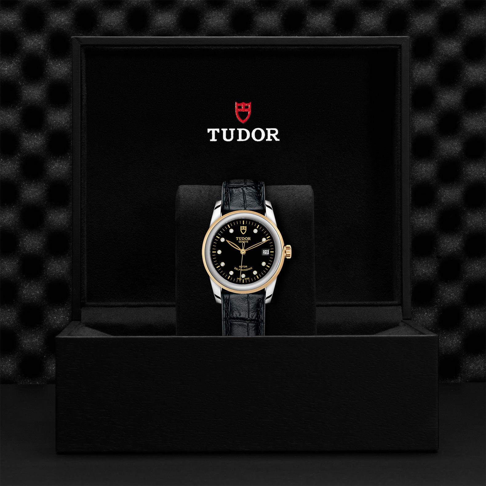 TUDOR Glamour Date M55003 0037 Presentationbox