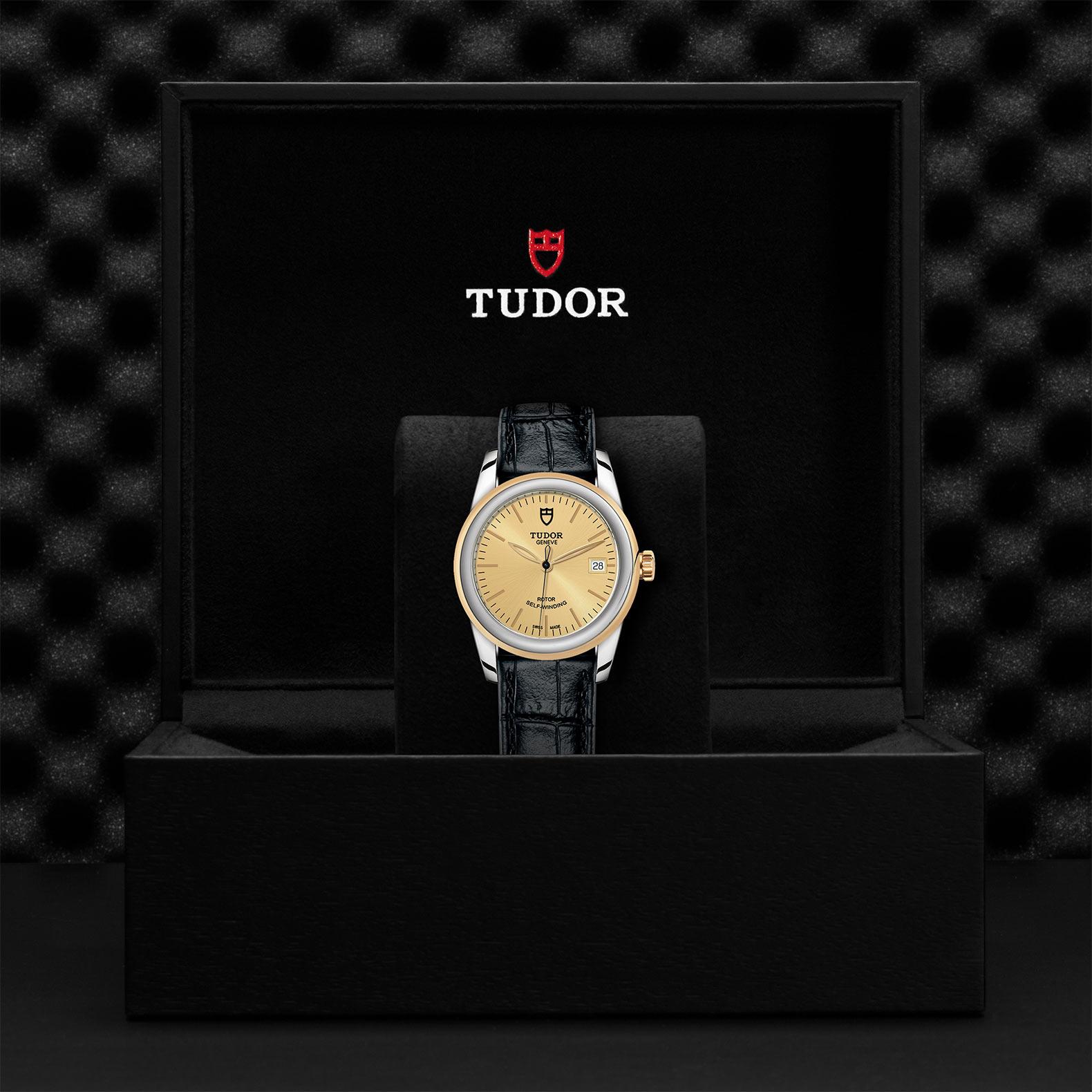 TUDOR Glamour Date M55003 0044 Presentationbox