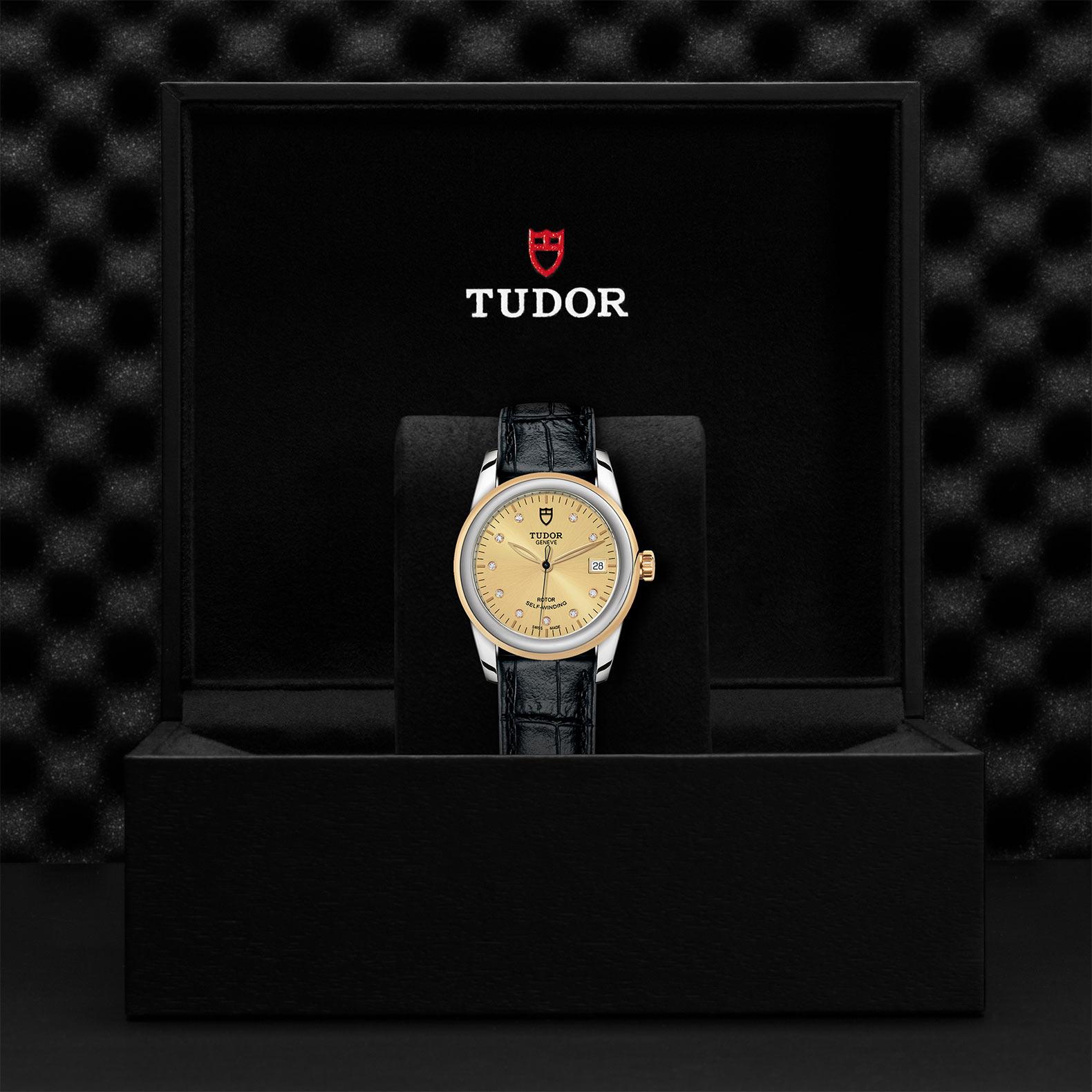 TUDOR Glamour Date M55003 0051 Presentationbox