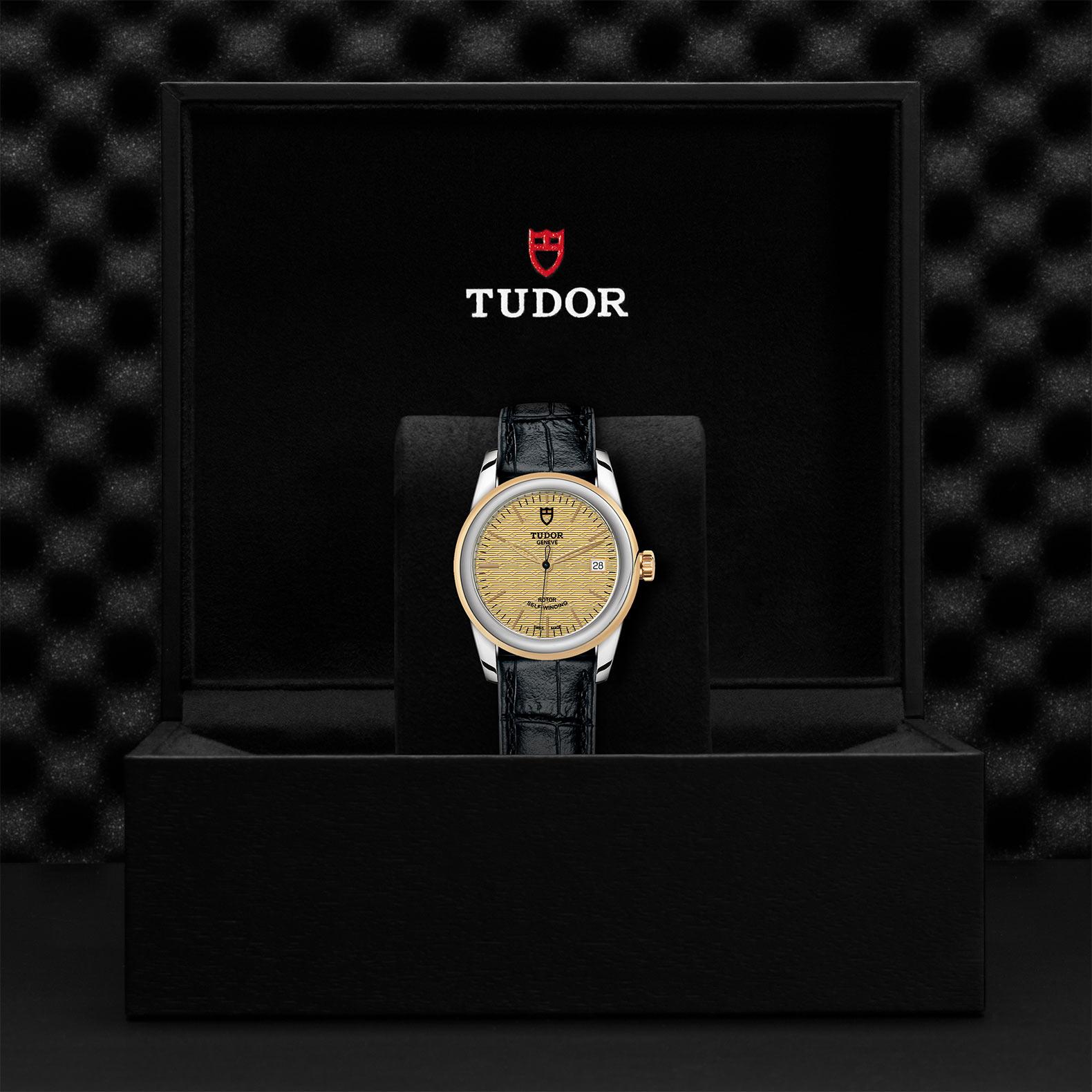 TUDOR Glamour Date M55003 0060 Presentationbox