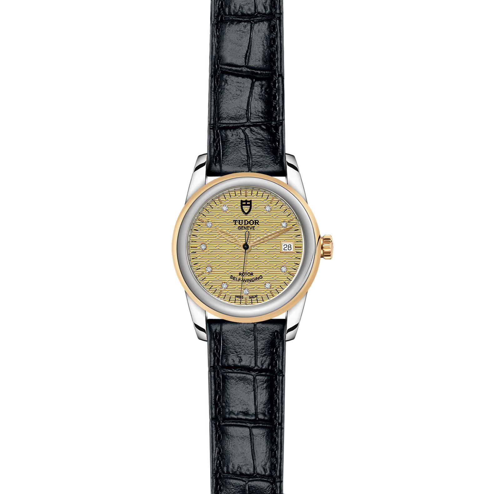 TUDOR Glamour Date M55003 0068 Frontfacing