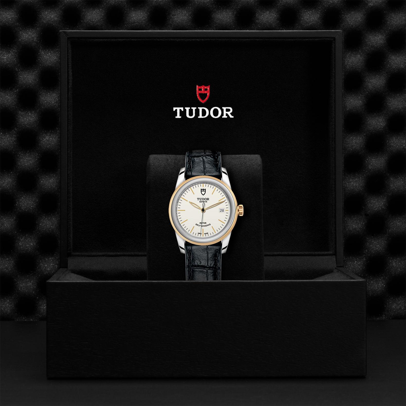 TUDOR Glamour Date M55003 0086 Presentationbox