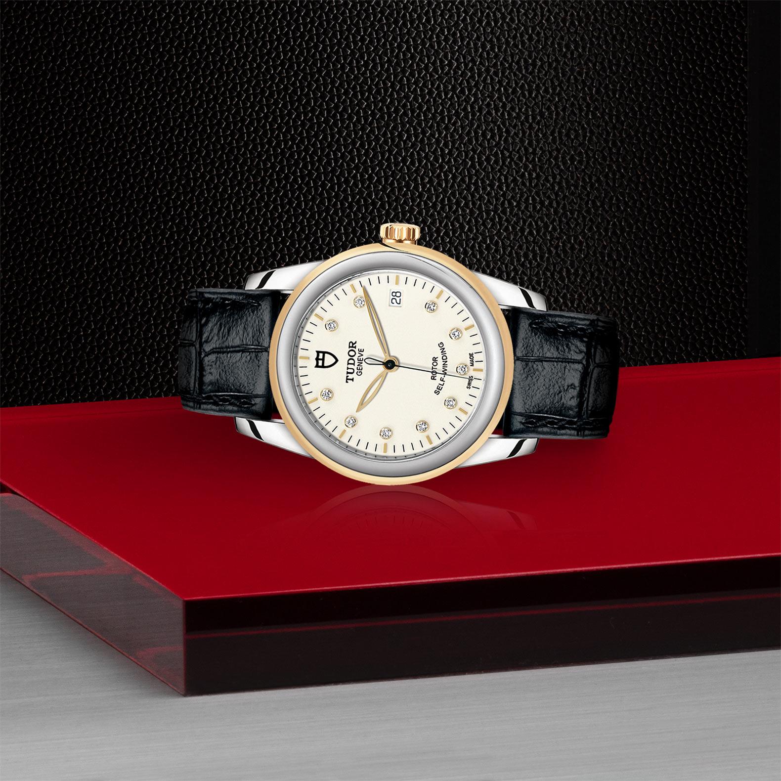 TUDOR Glamour Date M55003 0095 Layingdown