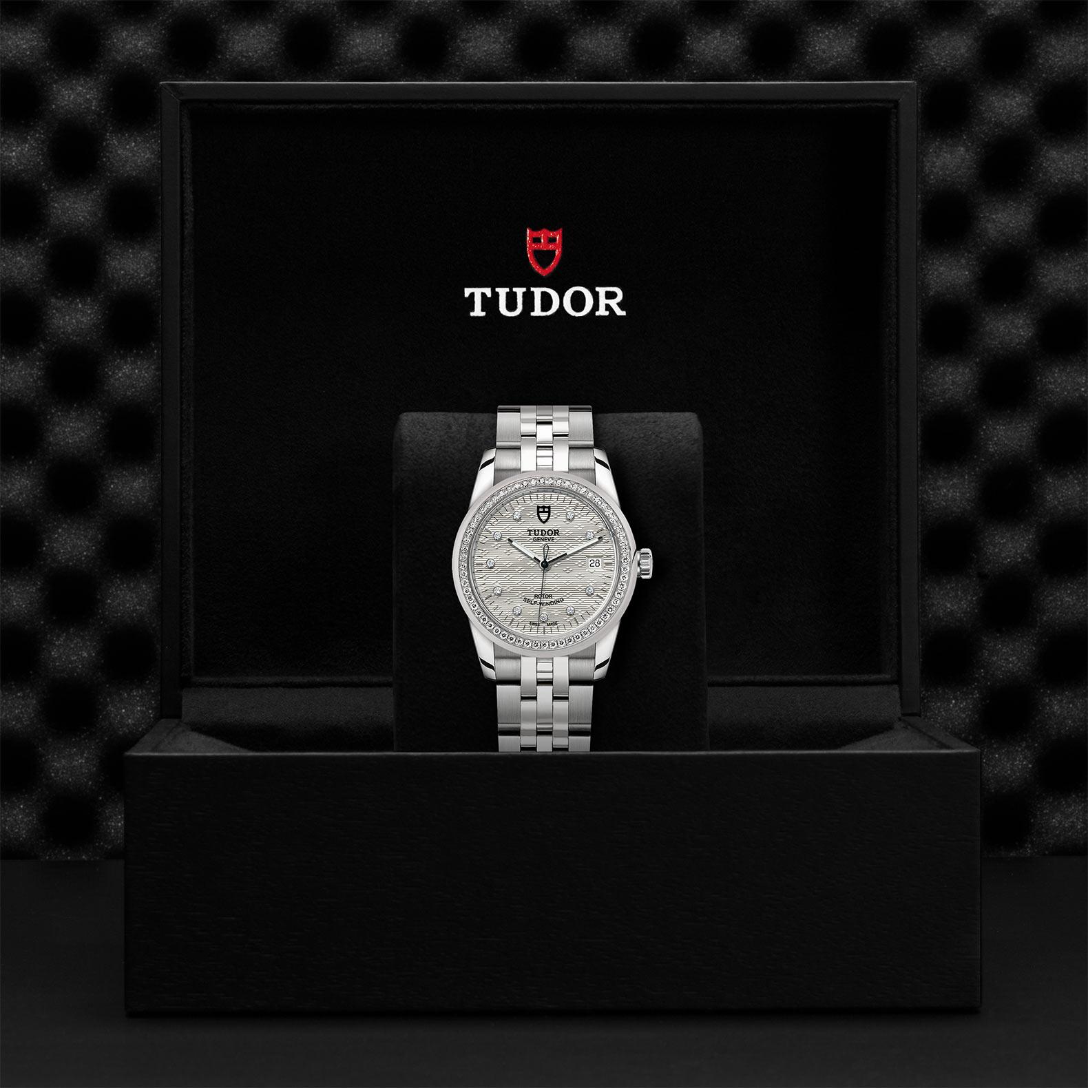 TUDOR Glamour Date M55020 0001 Presentationbox