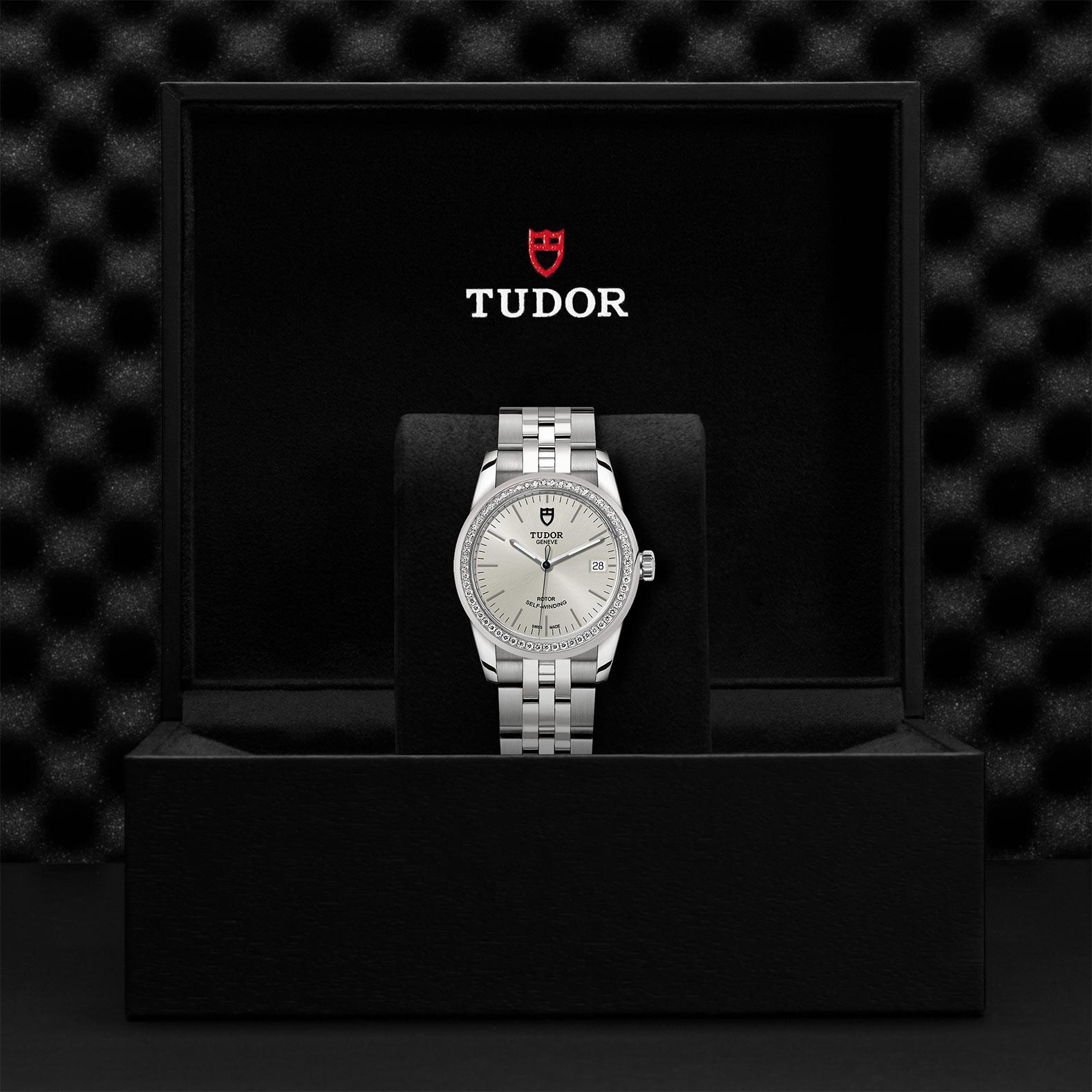 TUDOR Glamour Date M55020 0004 Presentationbox