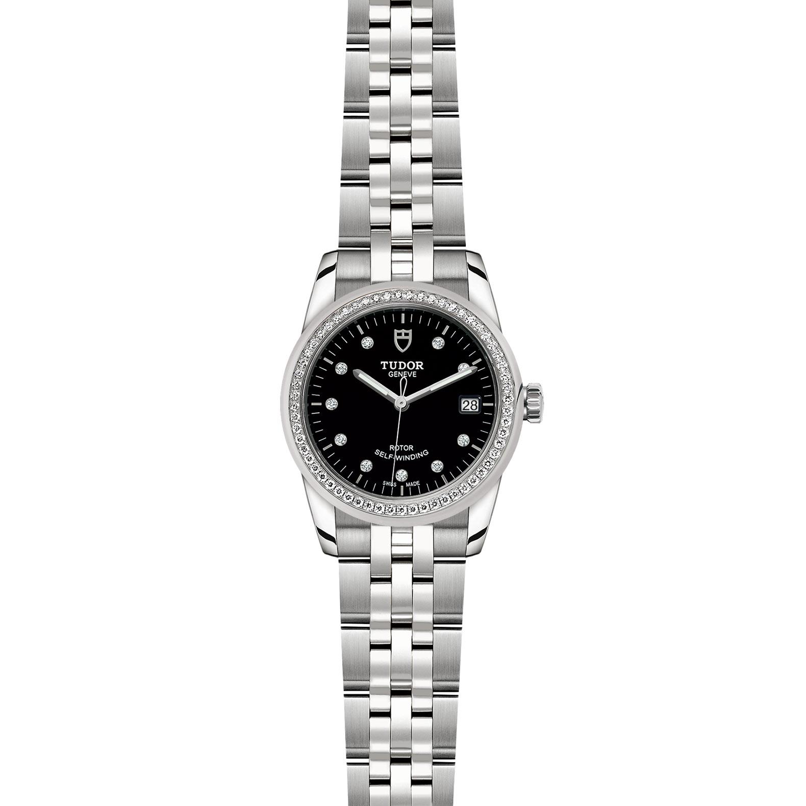 TUDOR Glamour Date M55020 0007 Frontfacing