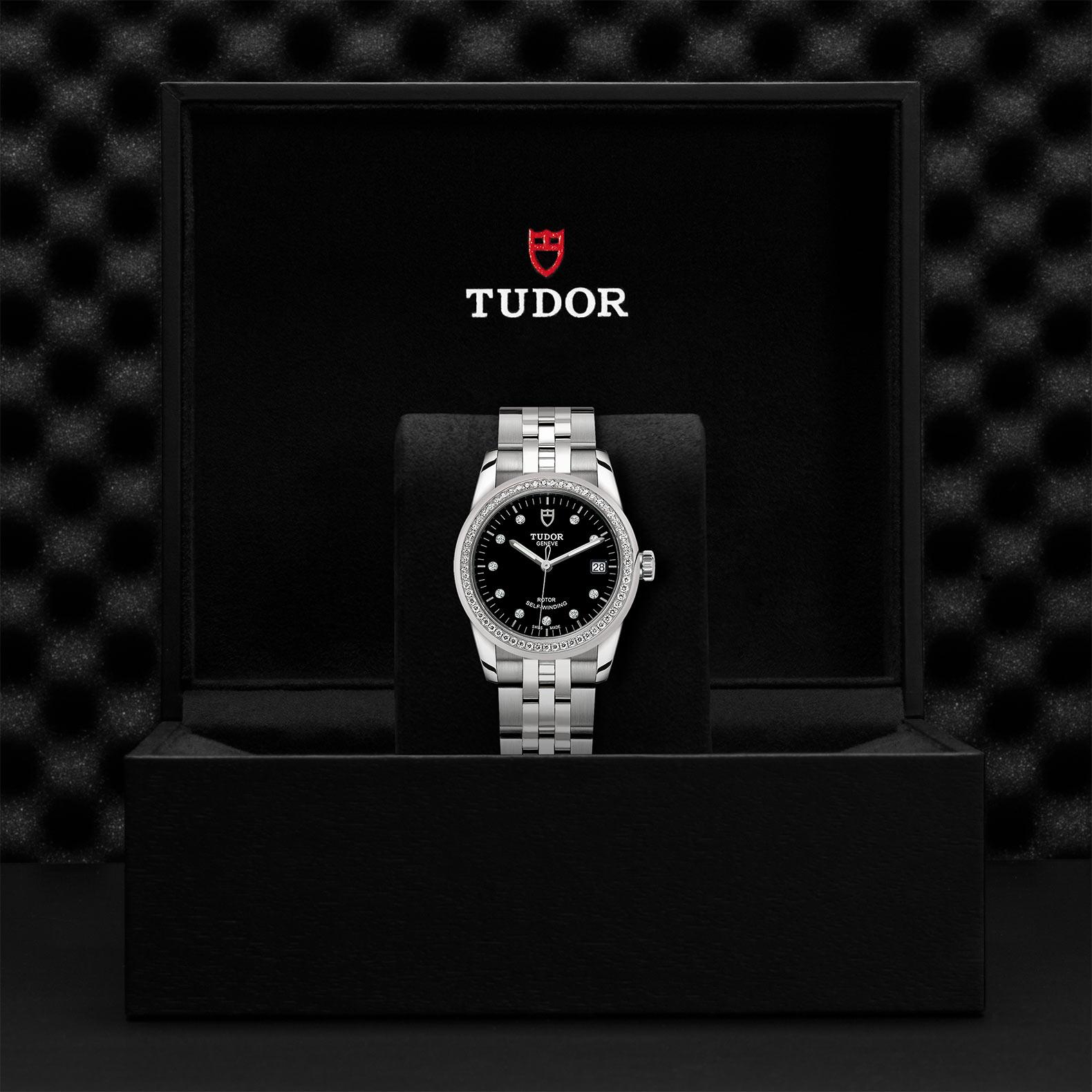 TUDOR Glamour Date M55020 0007 Presentationbox