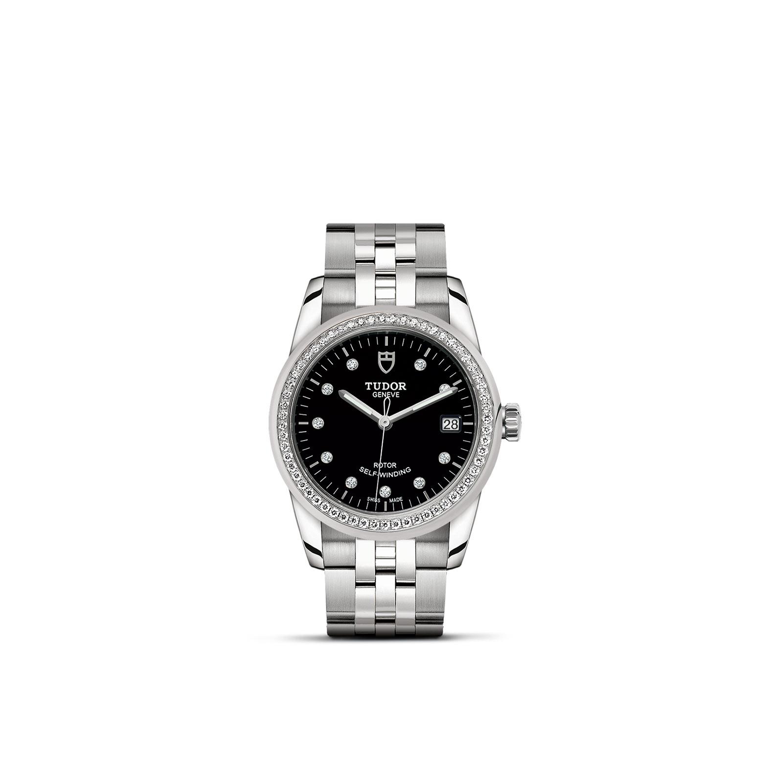TUDOR Glamour Date M55020 0007 Upright